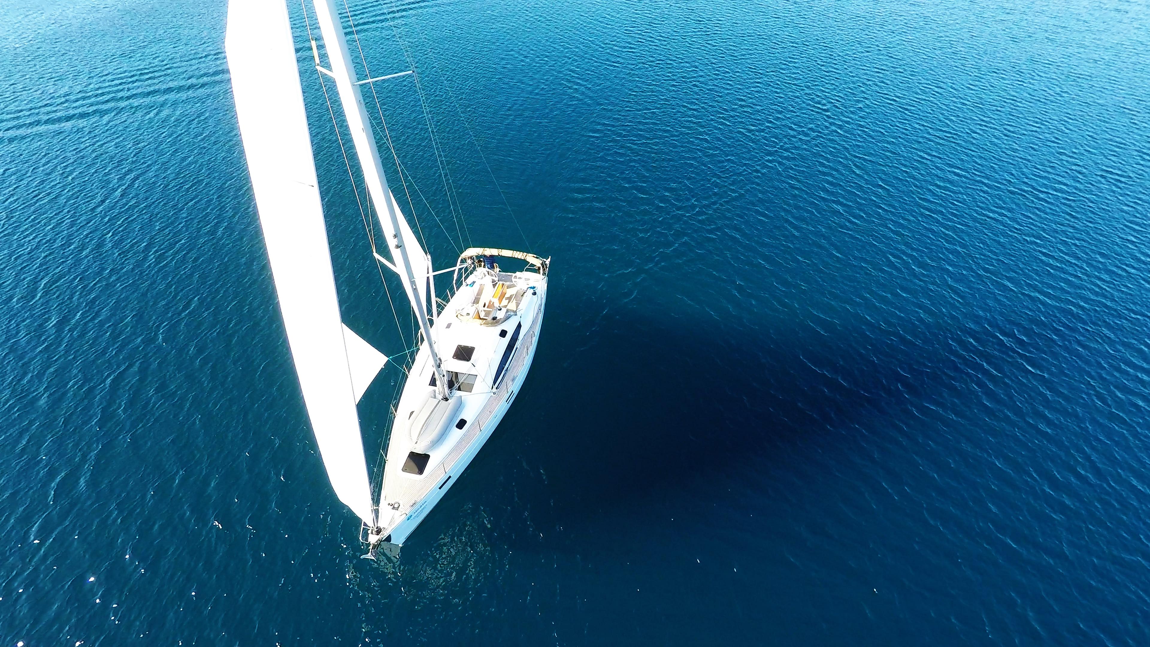 barcha a vela elan 45 impression mare blu yacht a vela vela barca a vela