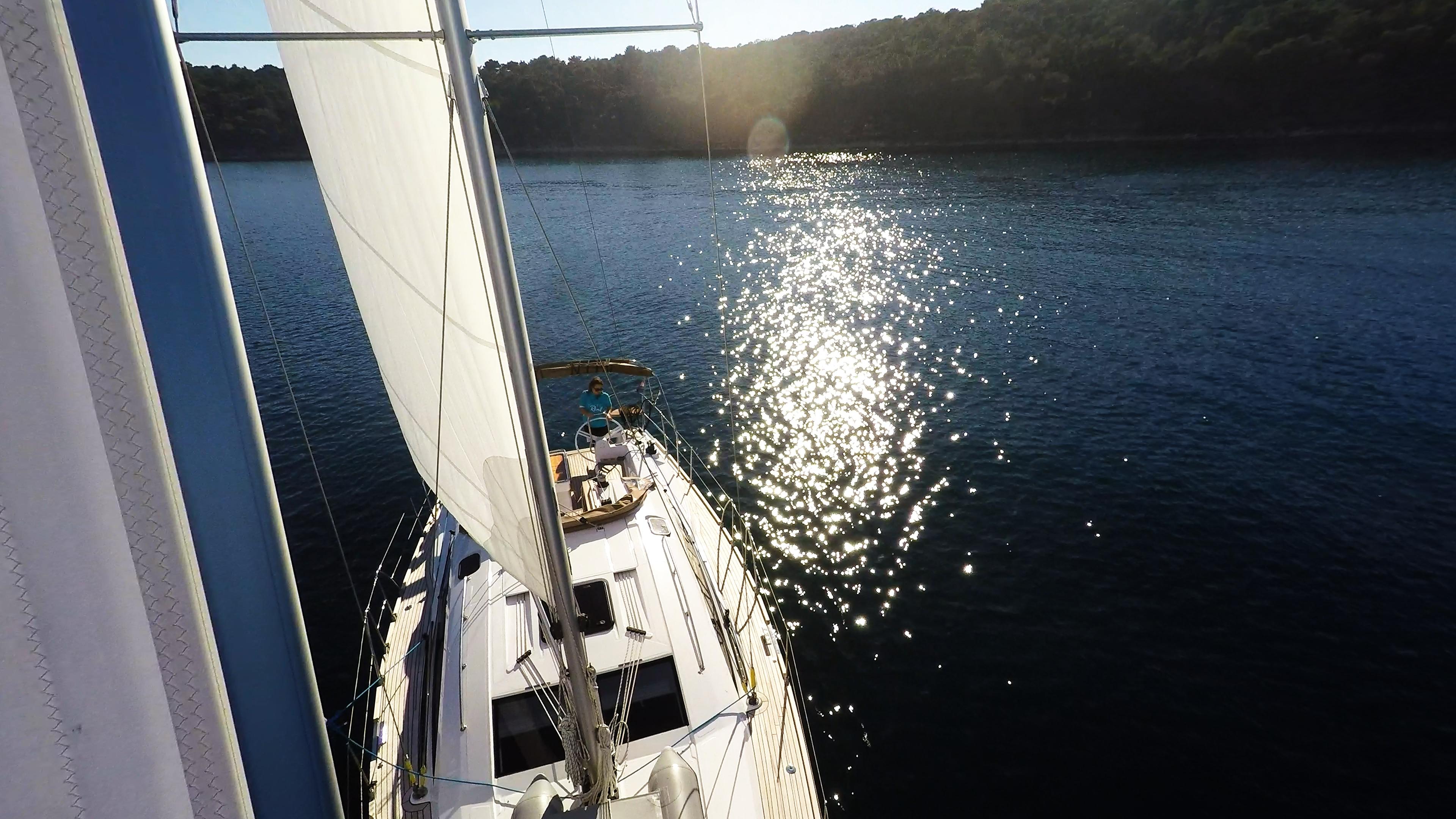 barcha a vela vela anteriore yacht a vela elan 45 impression barca a vela
