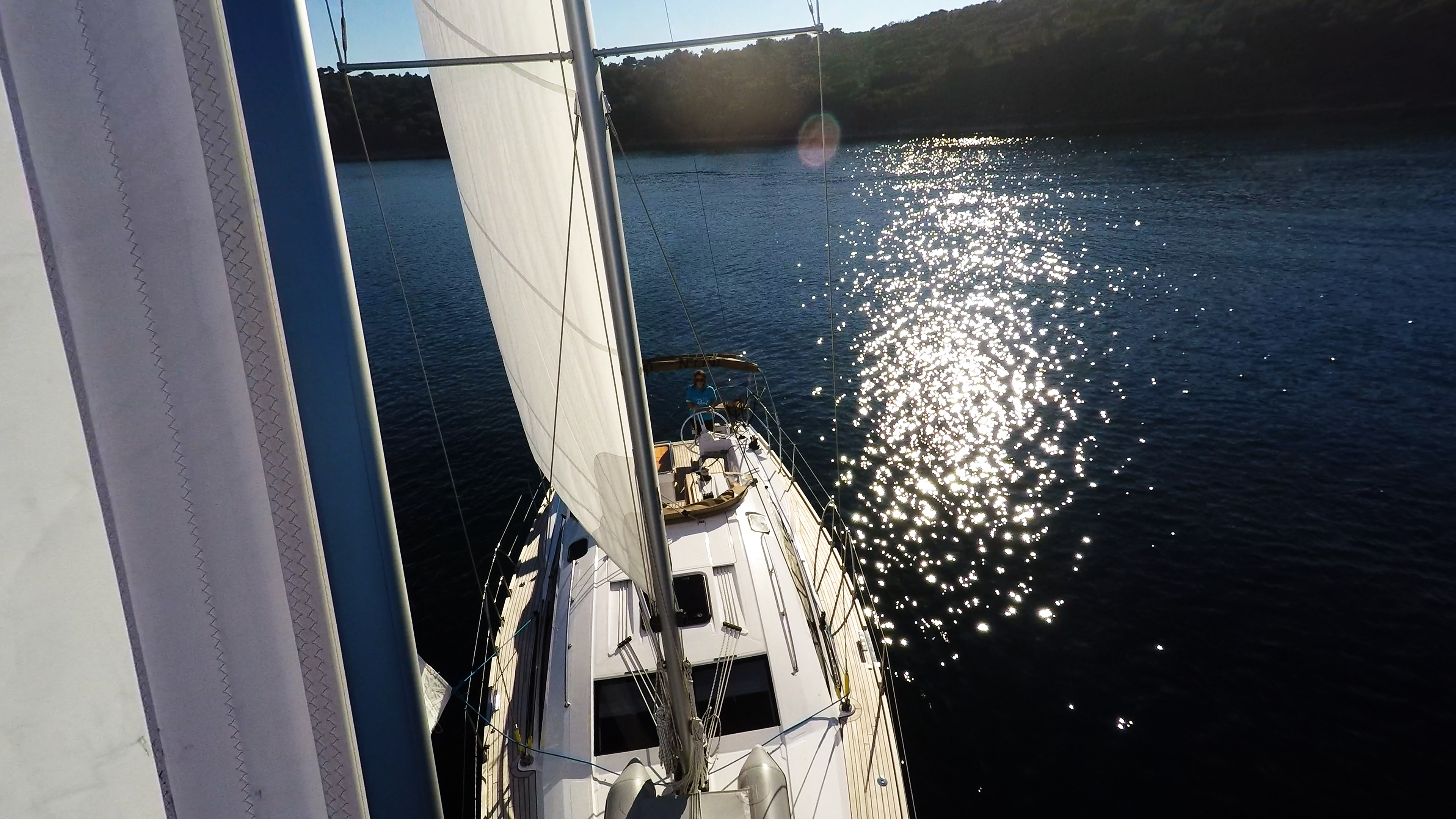 barcha a vela genova vela yacht a vela elan 45 impression barca a vela