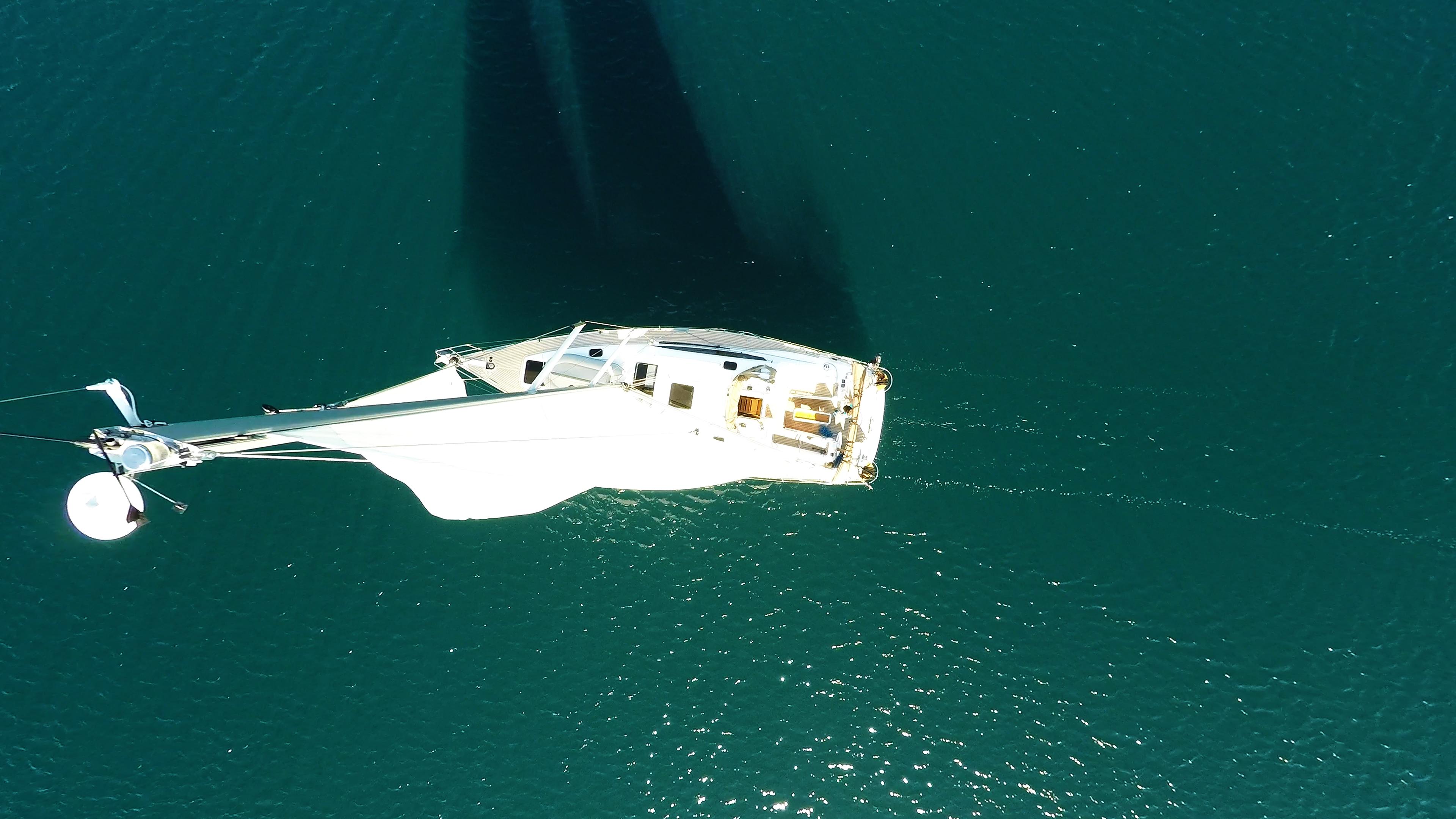 barcha a vela cima d'albero antenne yacht a vela barca a vela vela vele