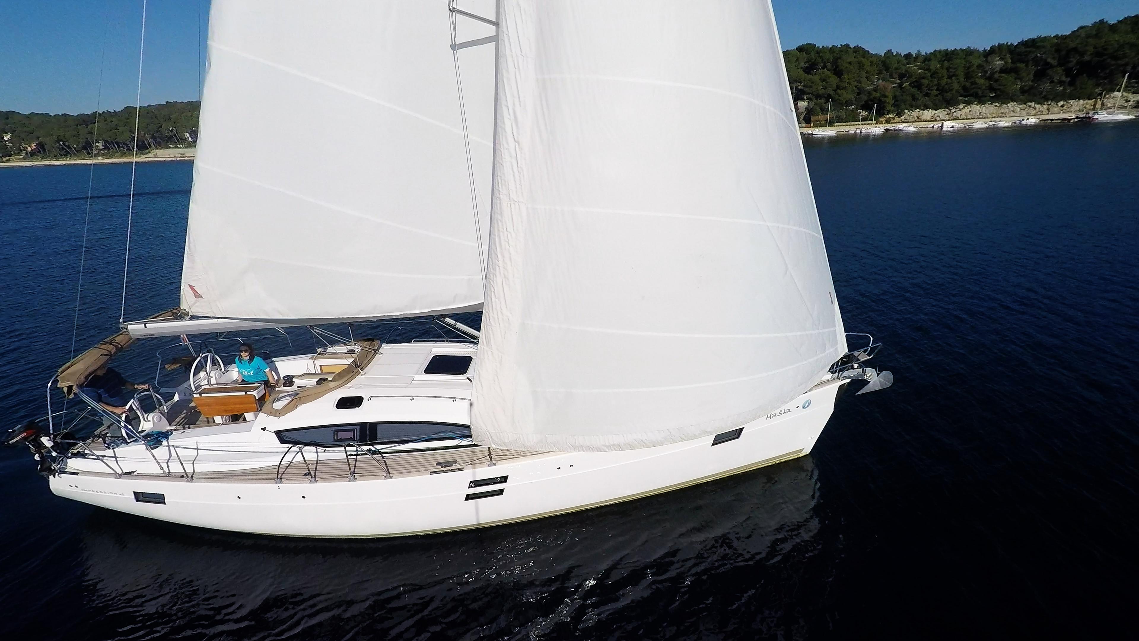 barcha a vela monoscafo barca a vela elan 45 impression yacht a vela