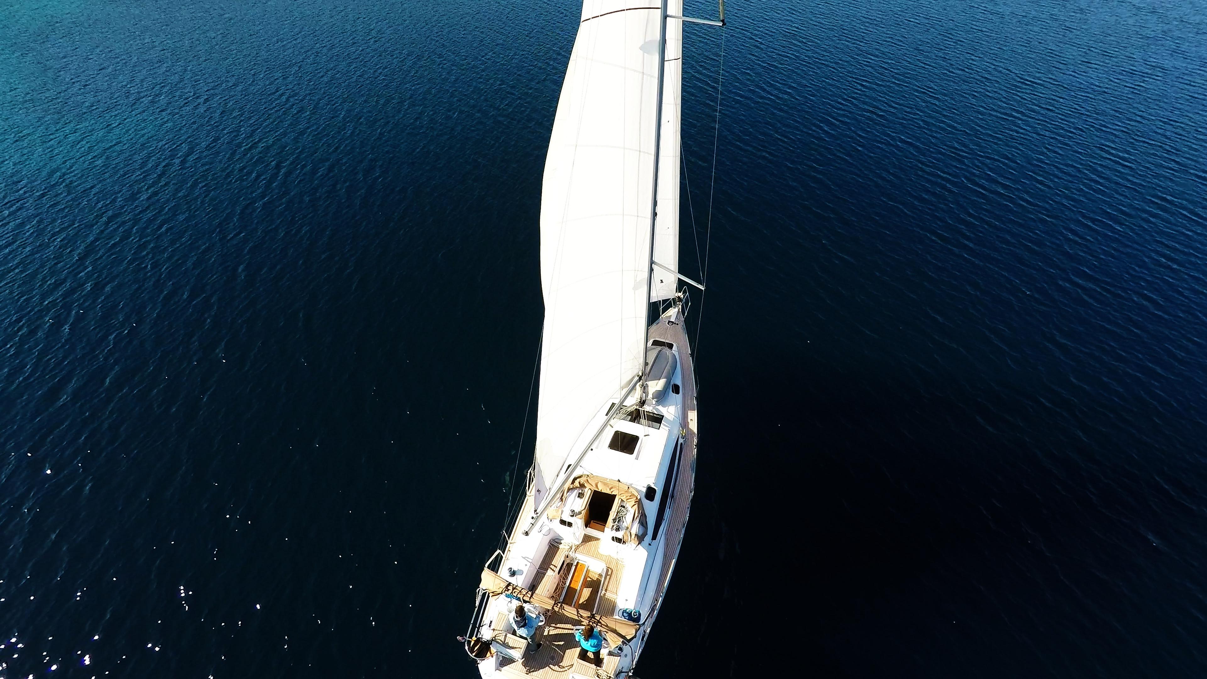 barcha a vela vela elan 45 barca a vela ponte veleggiare al mare