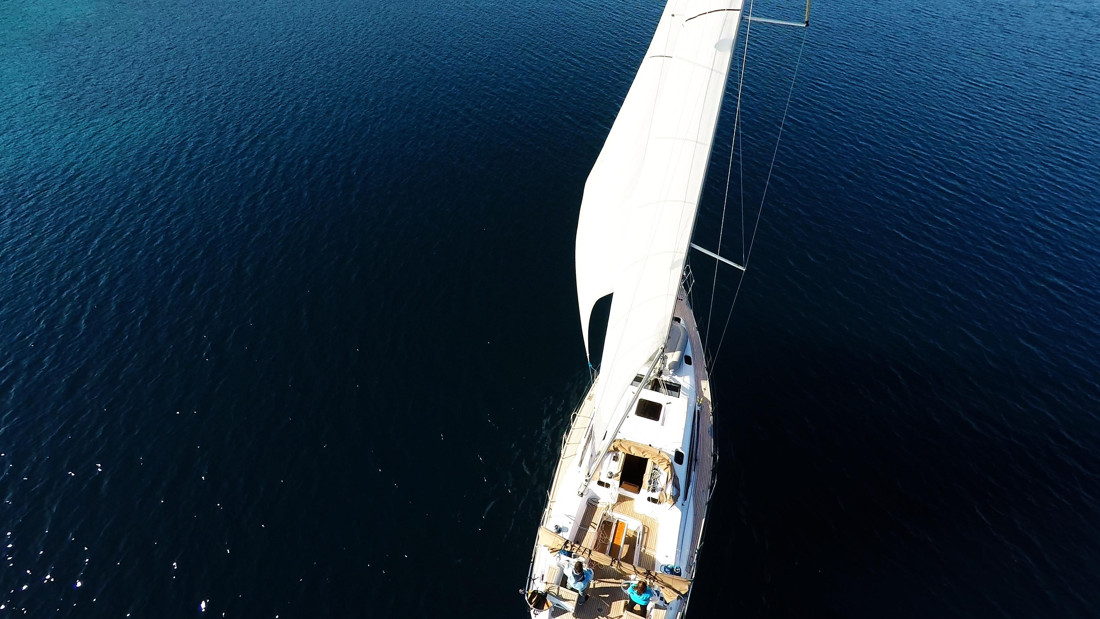 barcha a vela vela elan 45 yacht a vela randa genova