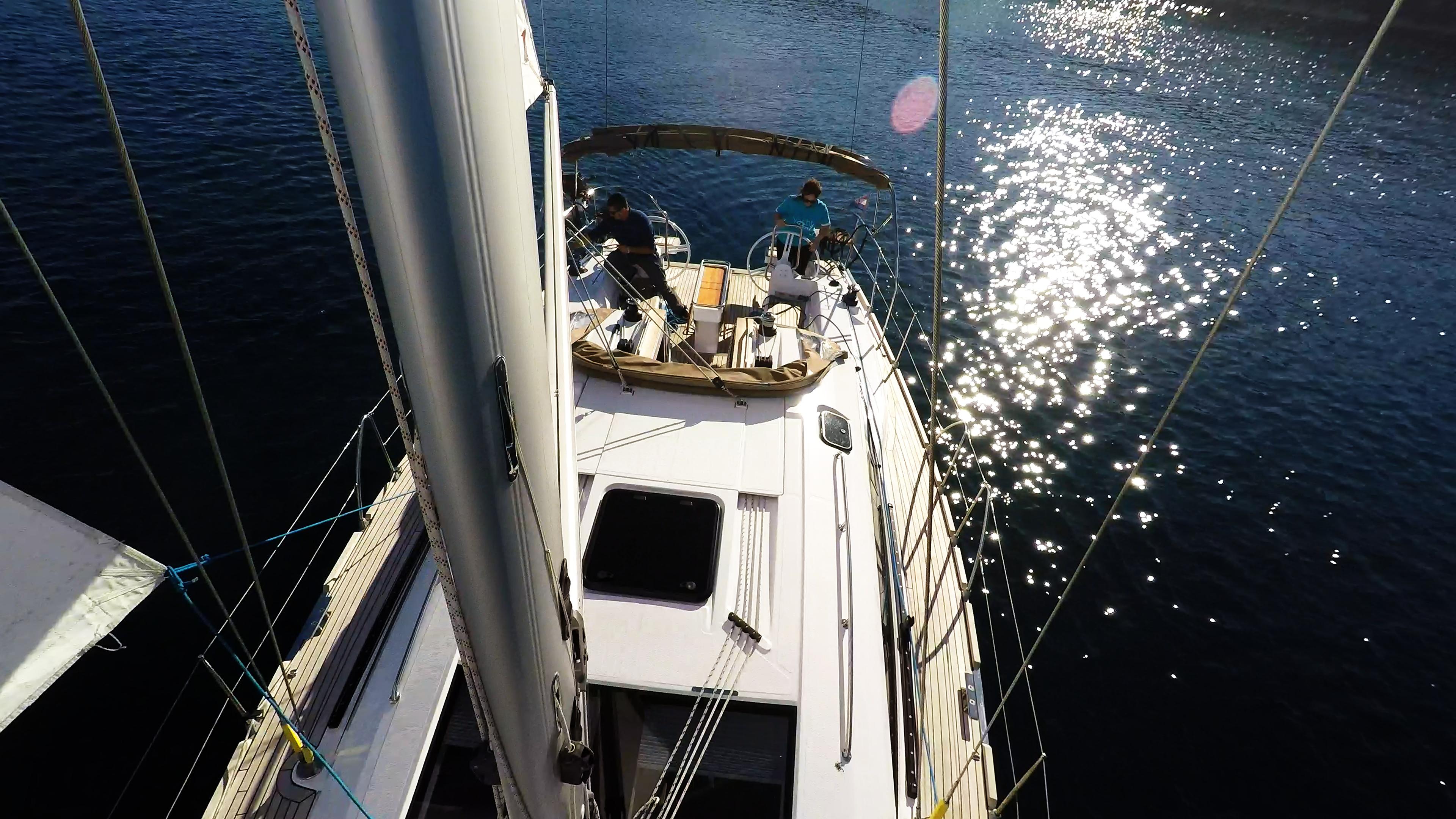 barcha a vela vela albero pozzetto ponte yacht a vela elan 45 impression barca a vela