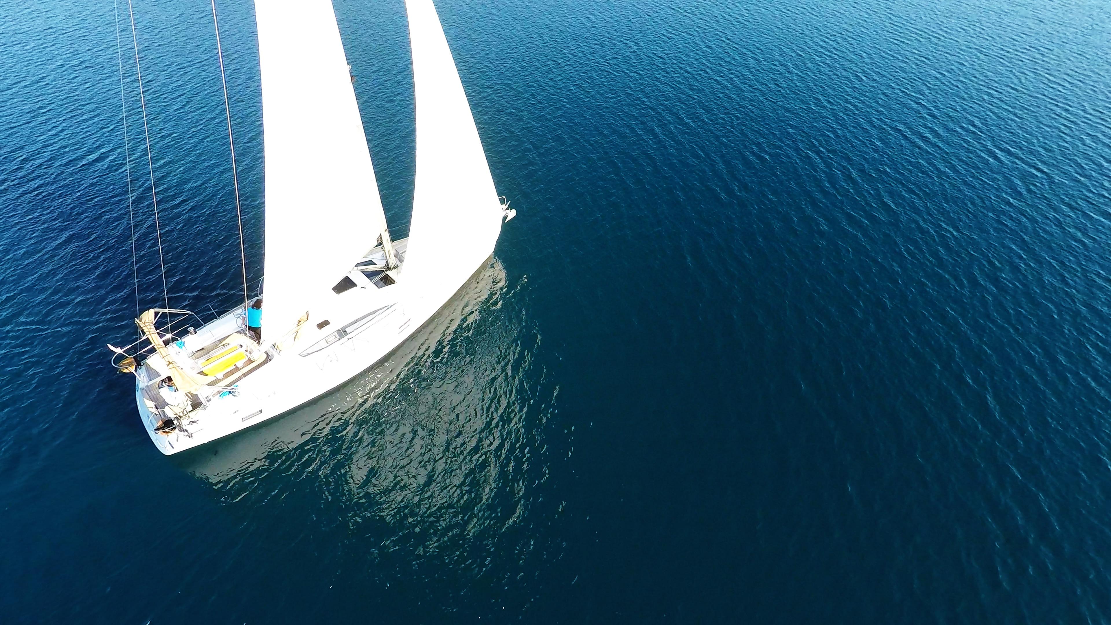 barcha a vela vela barca a vela yacht a vela mare blu elan 45