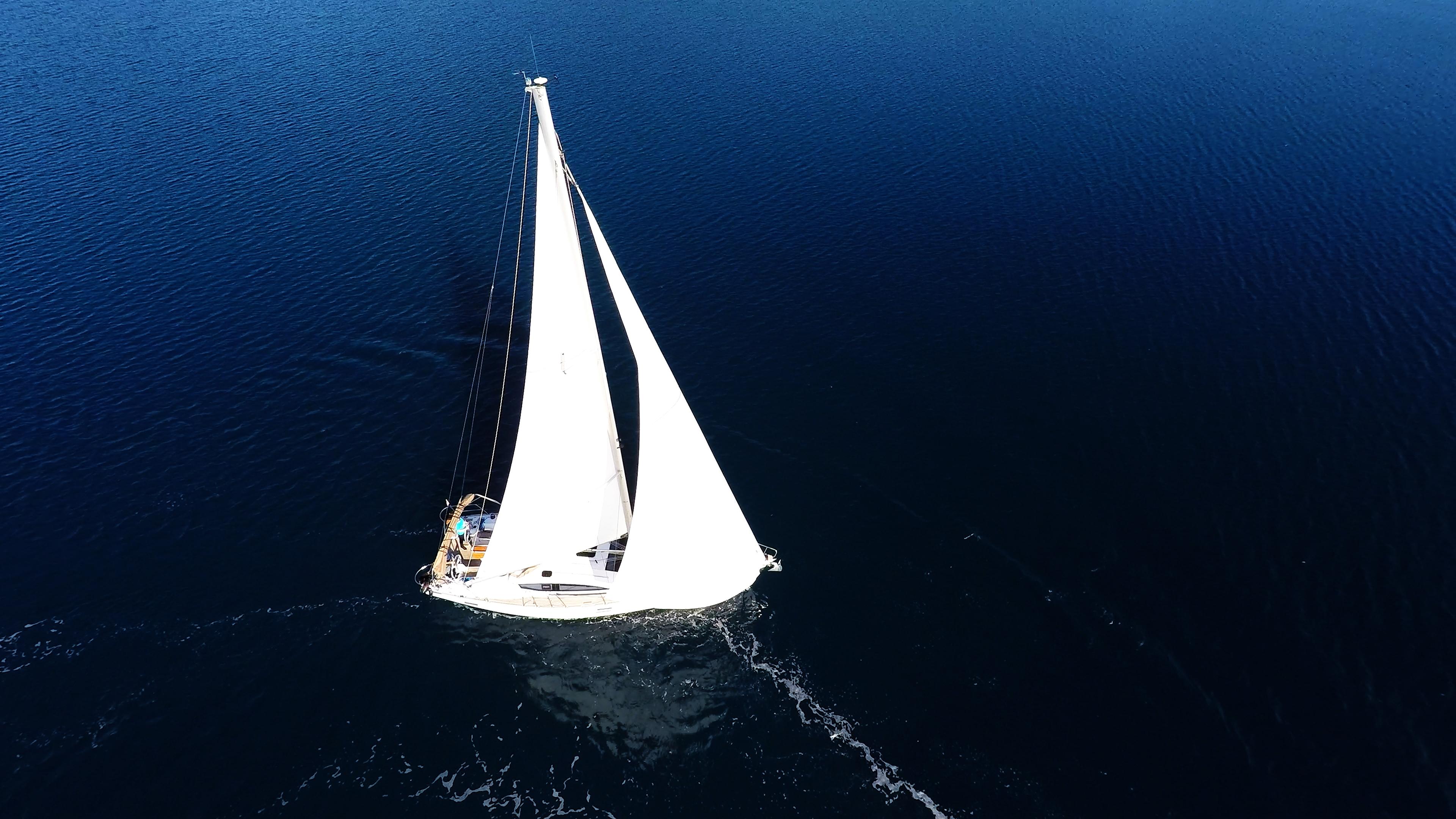barcha a vela vela yacht a vela elan 45 impression mare blu