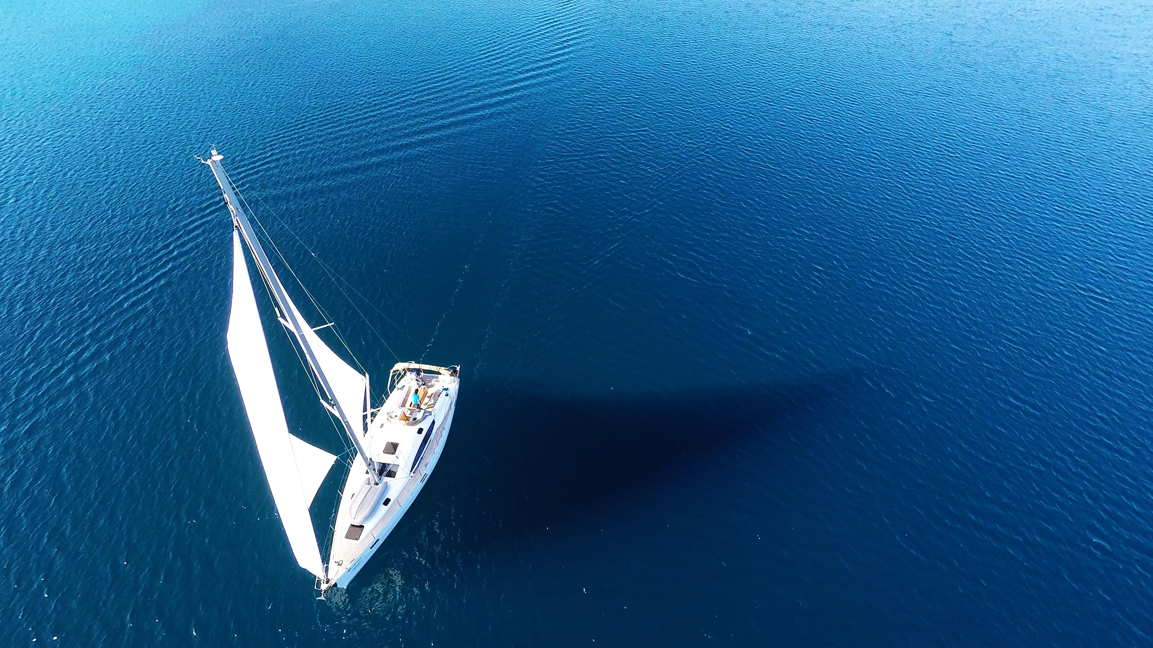 barcha a vela barca a vela mare blu yacht a vela barca elan 45