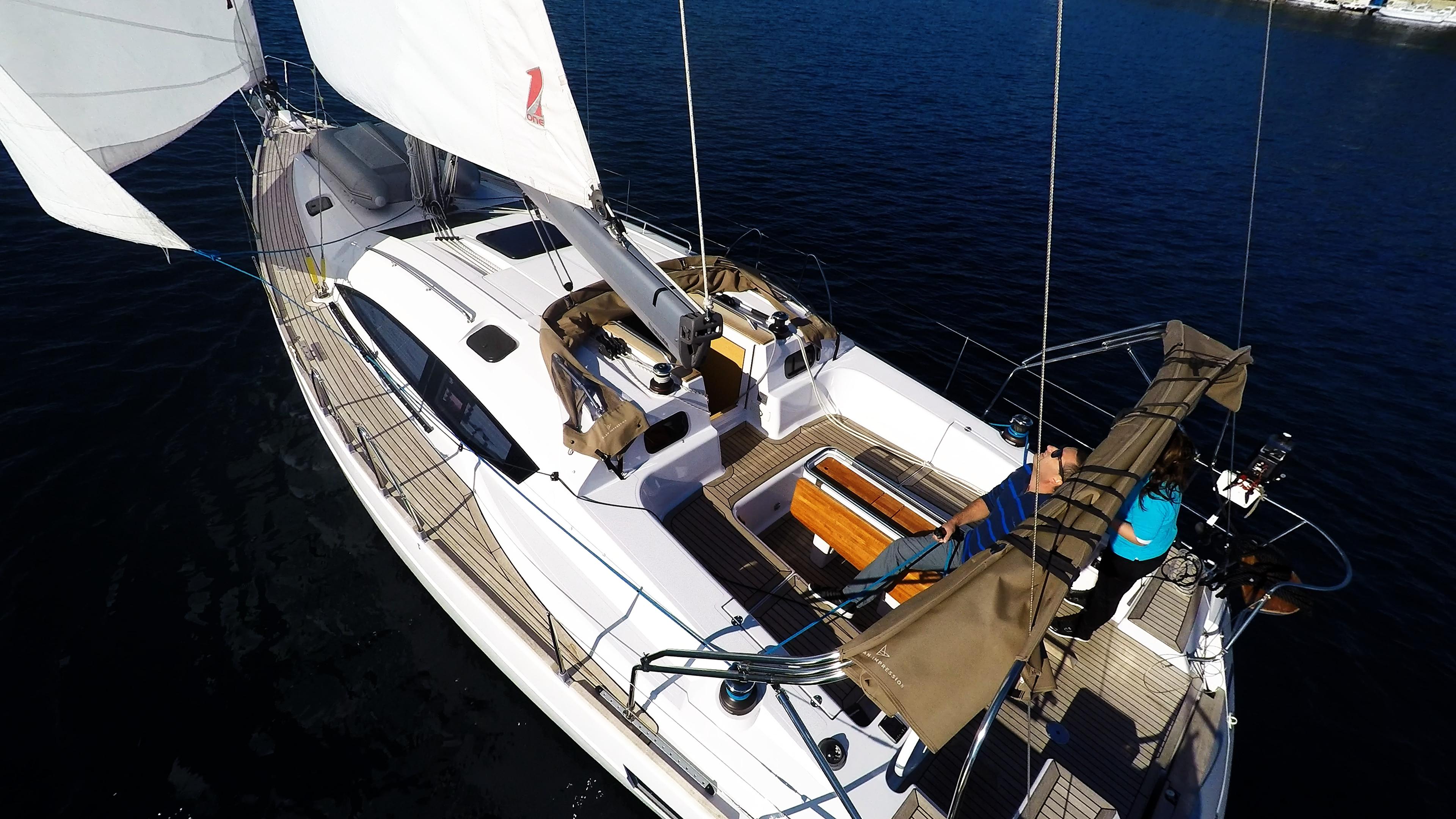 barcha a vela barca a vela pozzetto yacht a vela elan 45 vele