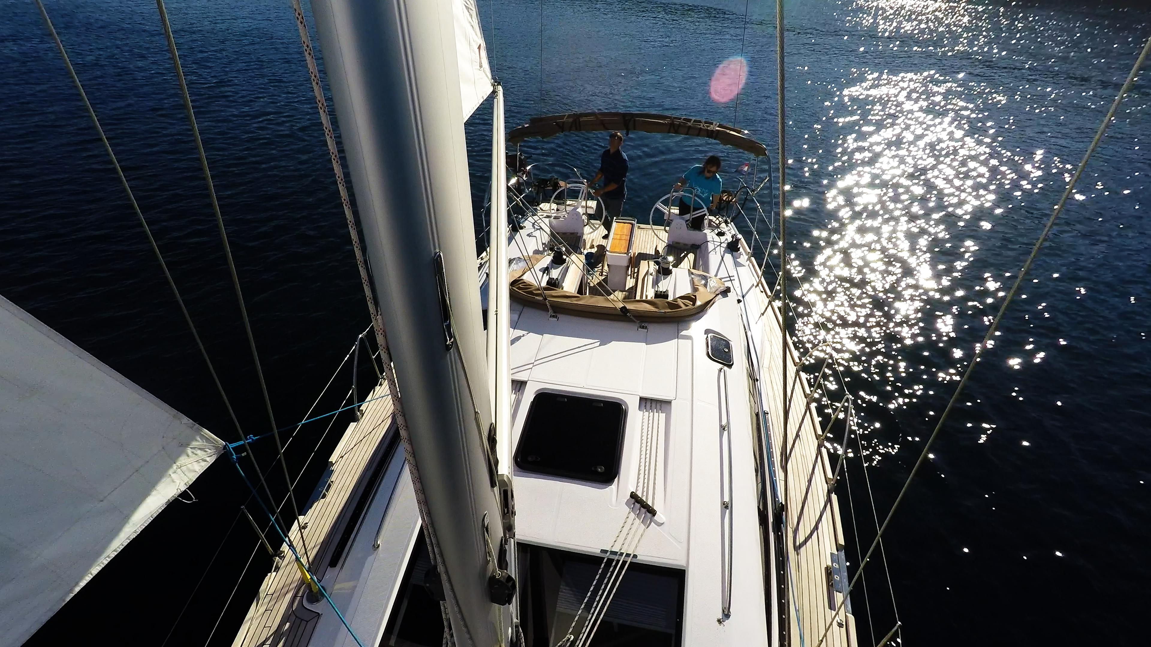 barcha a vela barca a vela ponte albero randa yacht a vela