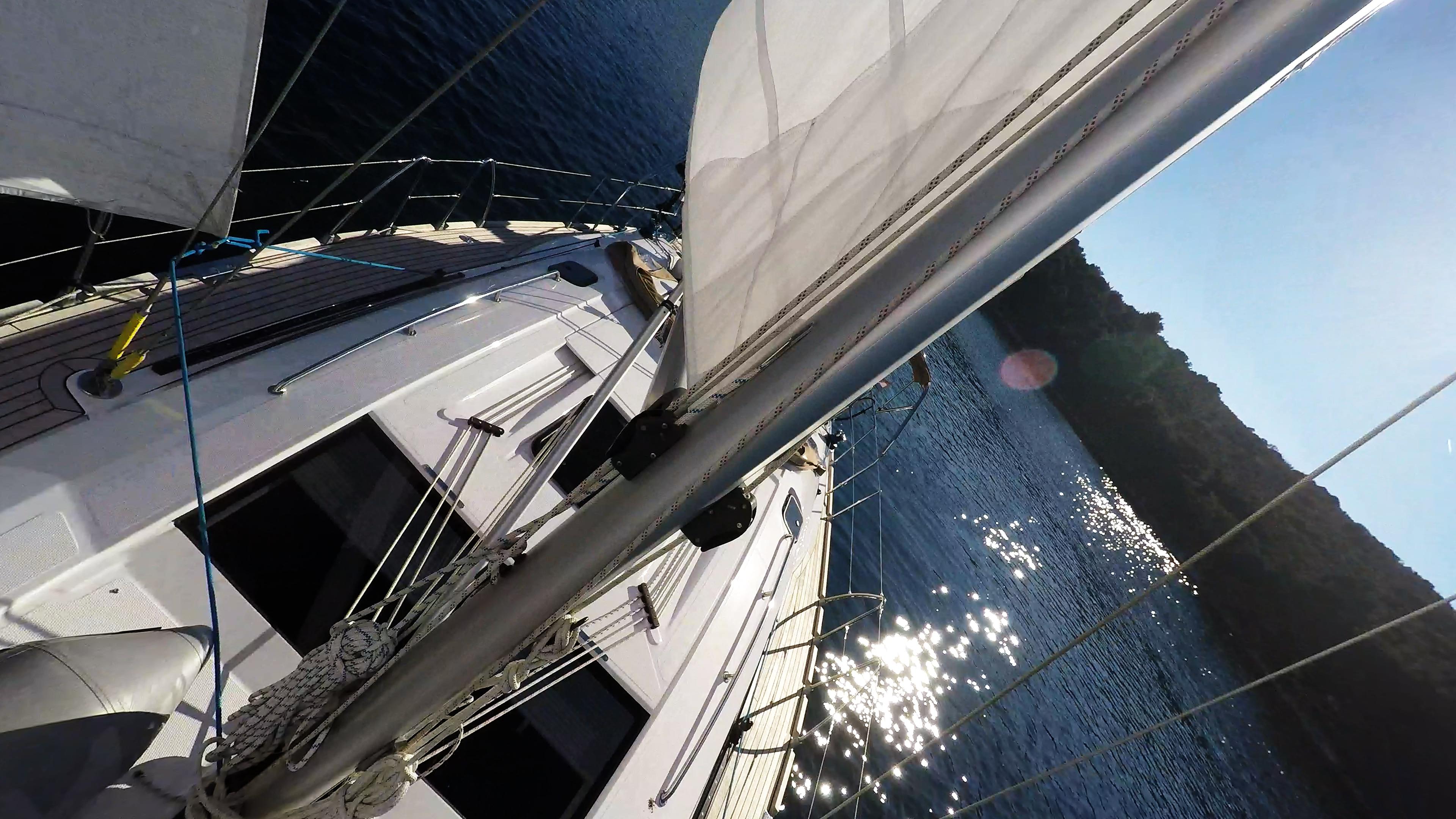 barcha a vela barca a vela ponte albero vela