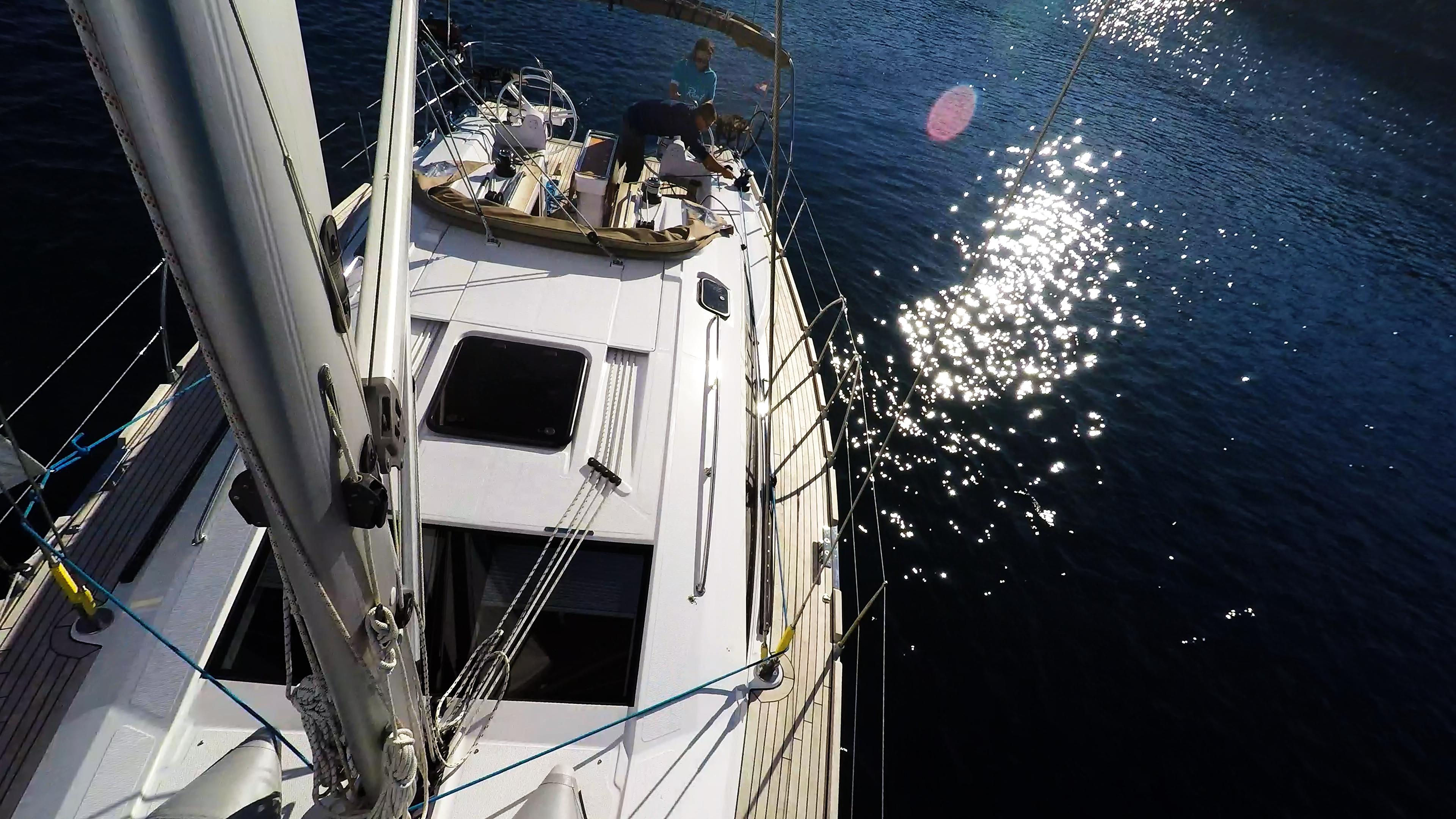 barcha a vela barca a vela ponte yacht a vela elan 45 impression