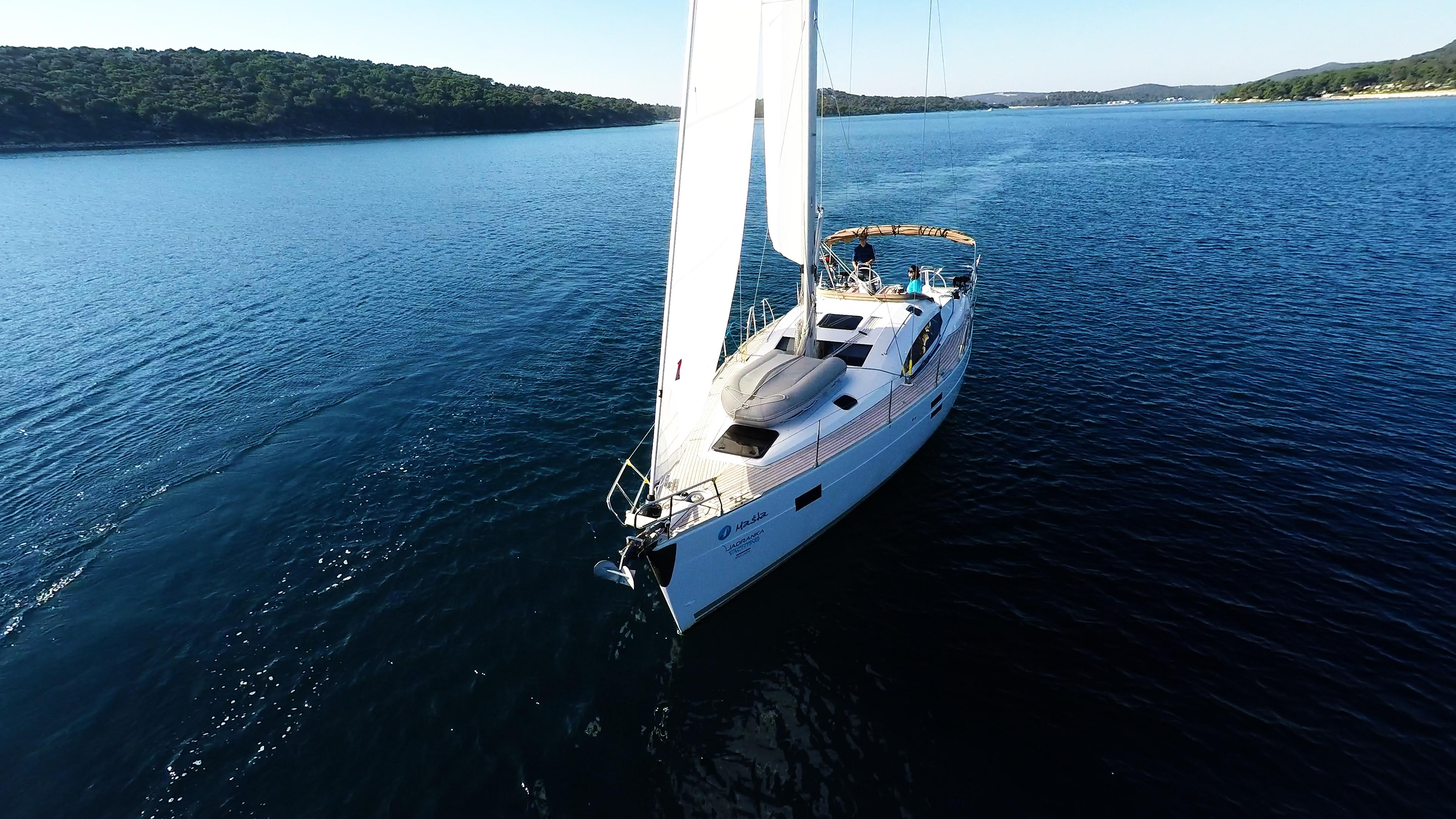 barcha a vela barca a vela elan 45 impression prua yacht a vela vela