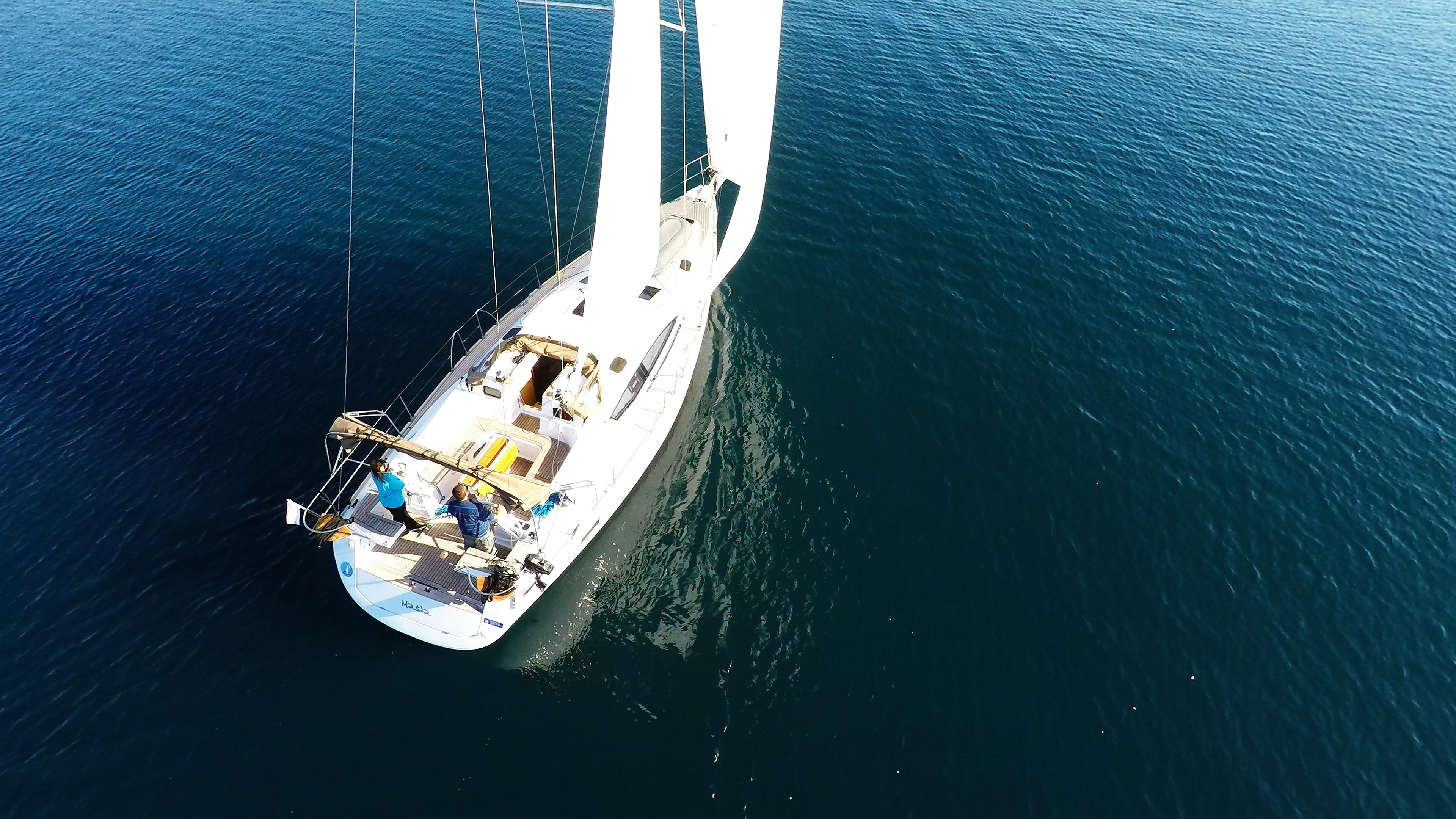 barcha a vela barca a vela elan 45 impression vela yacht a vela
