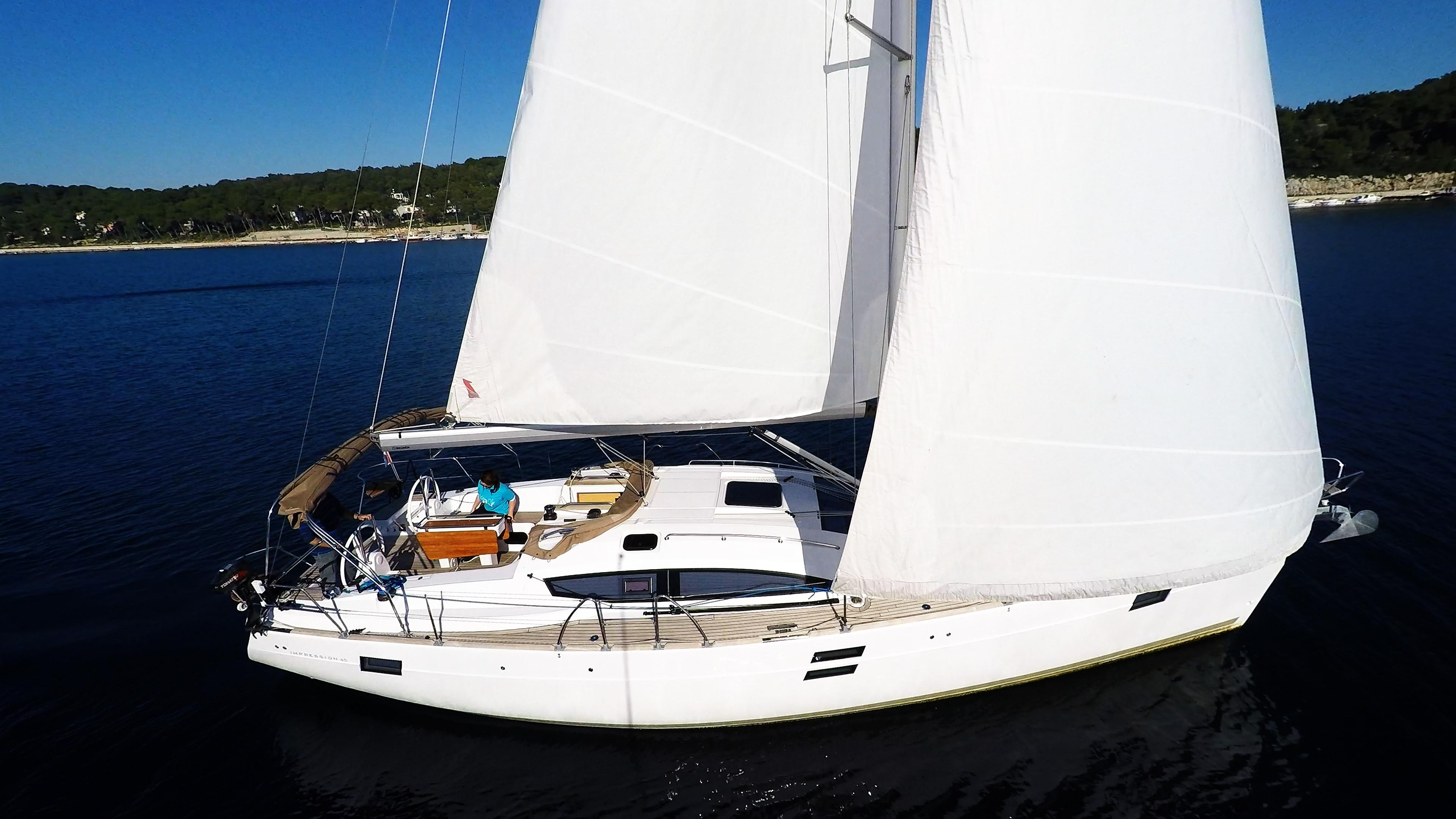 barcha a vela barca a vela elan 45 impression yacht a vela vela 1