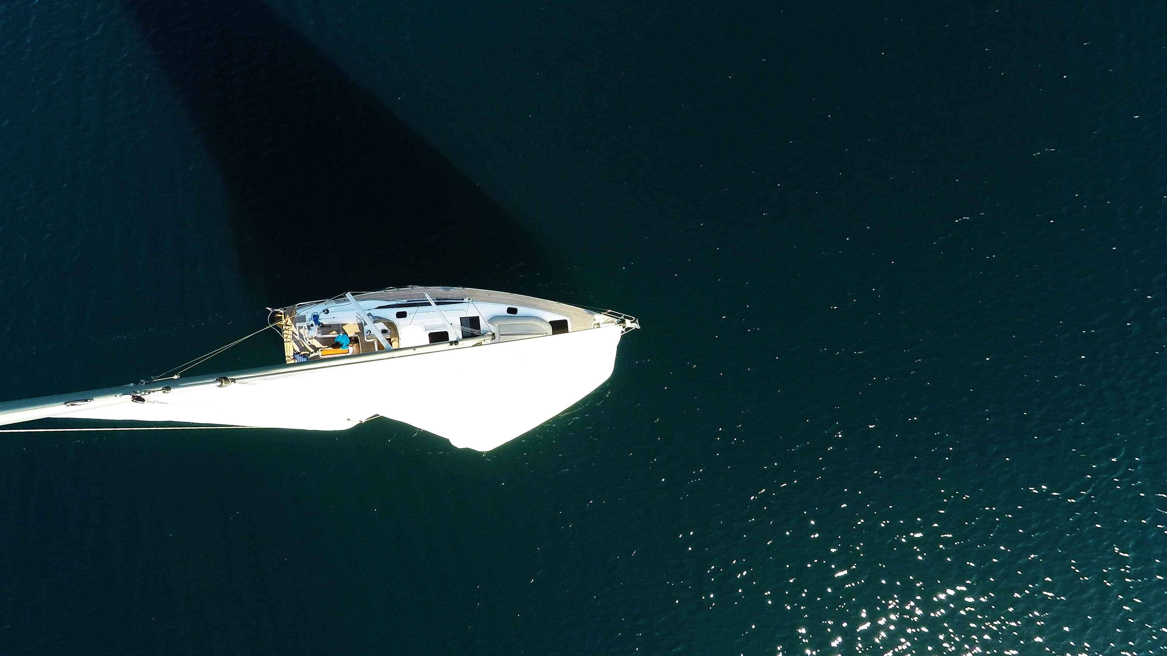 barcha a vela barca a vela da sopra vele mare blu yacht a vela