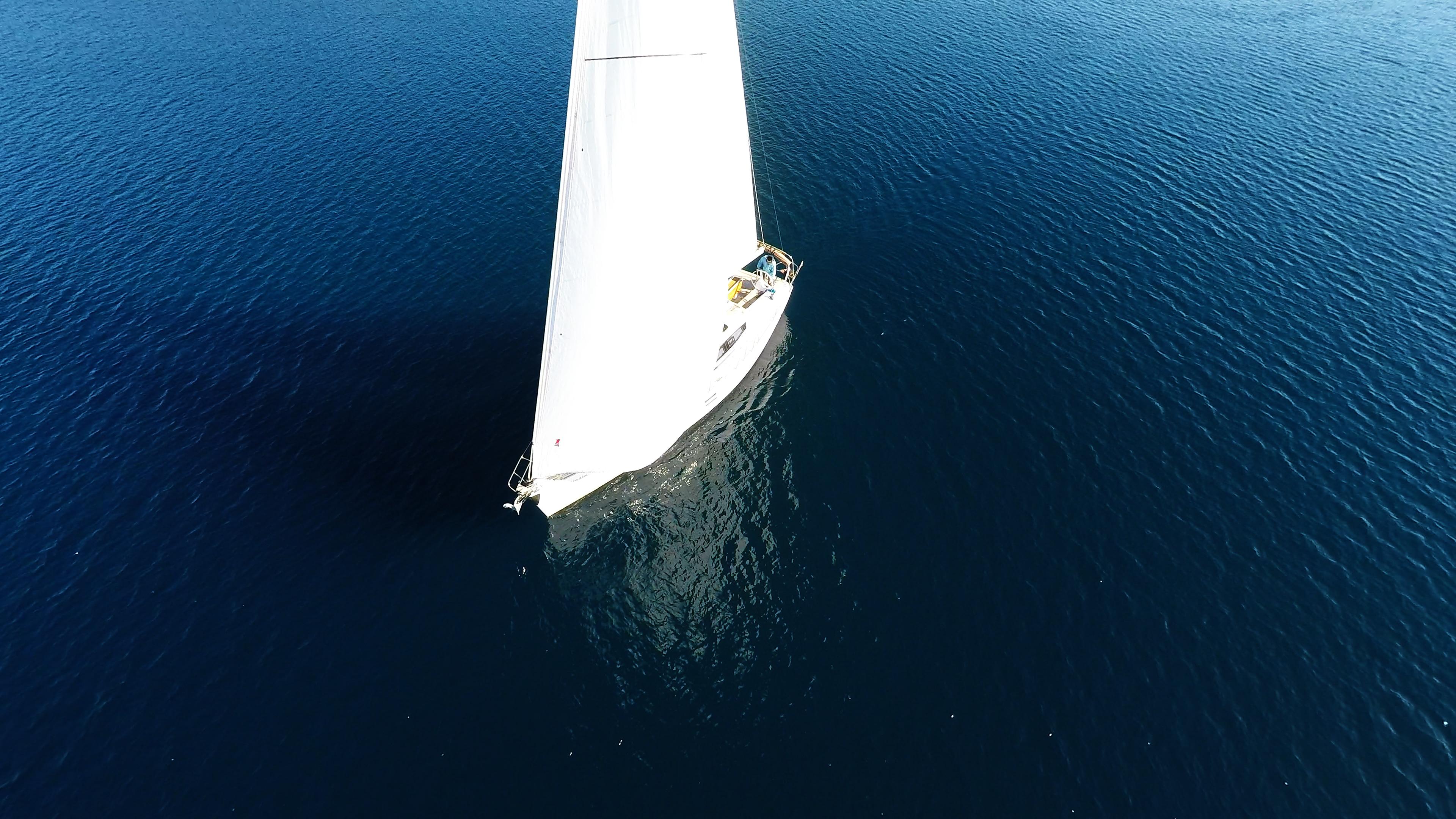 barcha a vela barca a vela vela anteriore genova randa yacht a vela elan 45