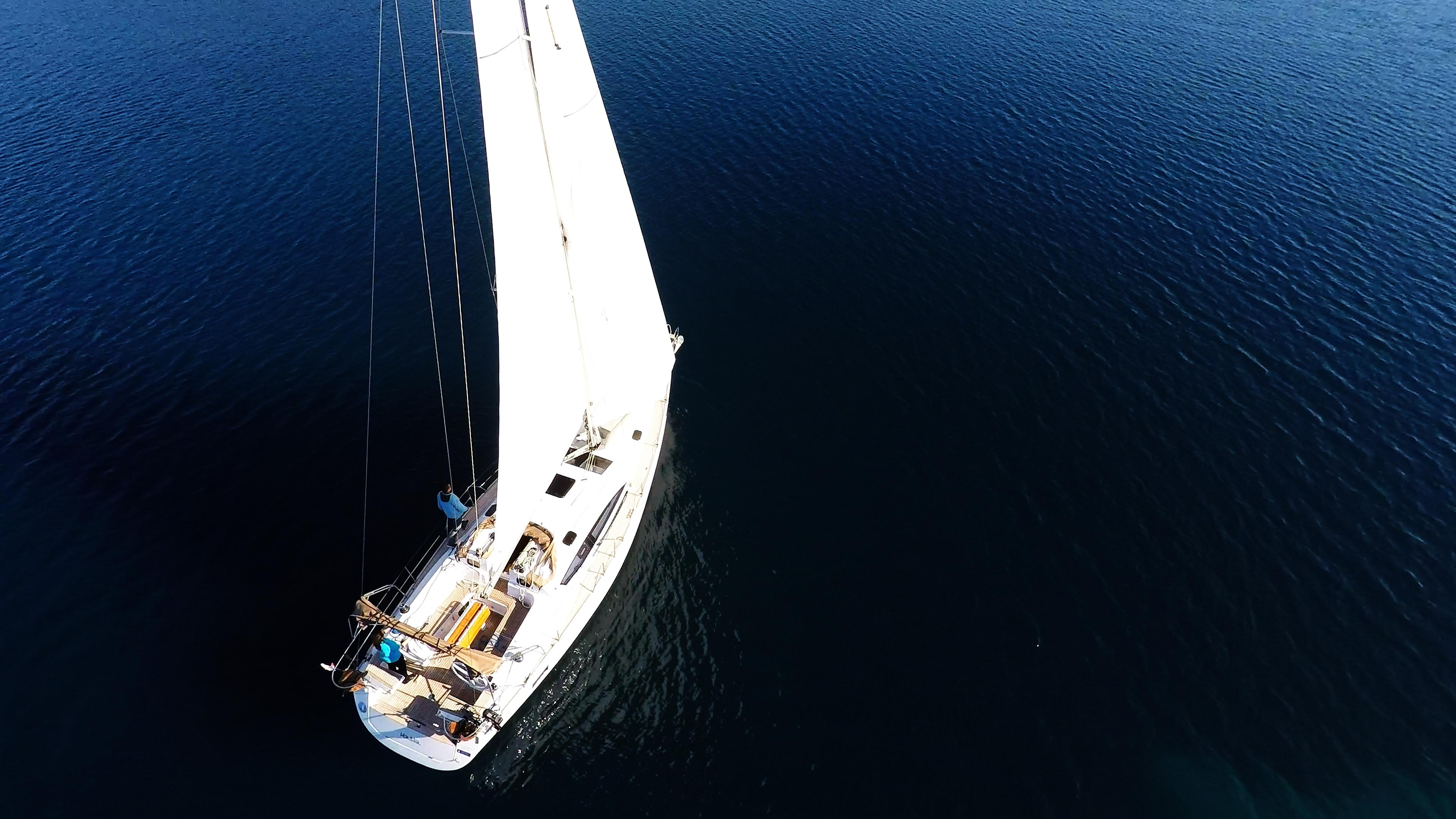 barcha a vela barca a vela vela yacht a vela mare blu elan 45