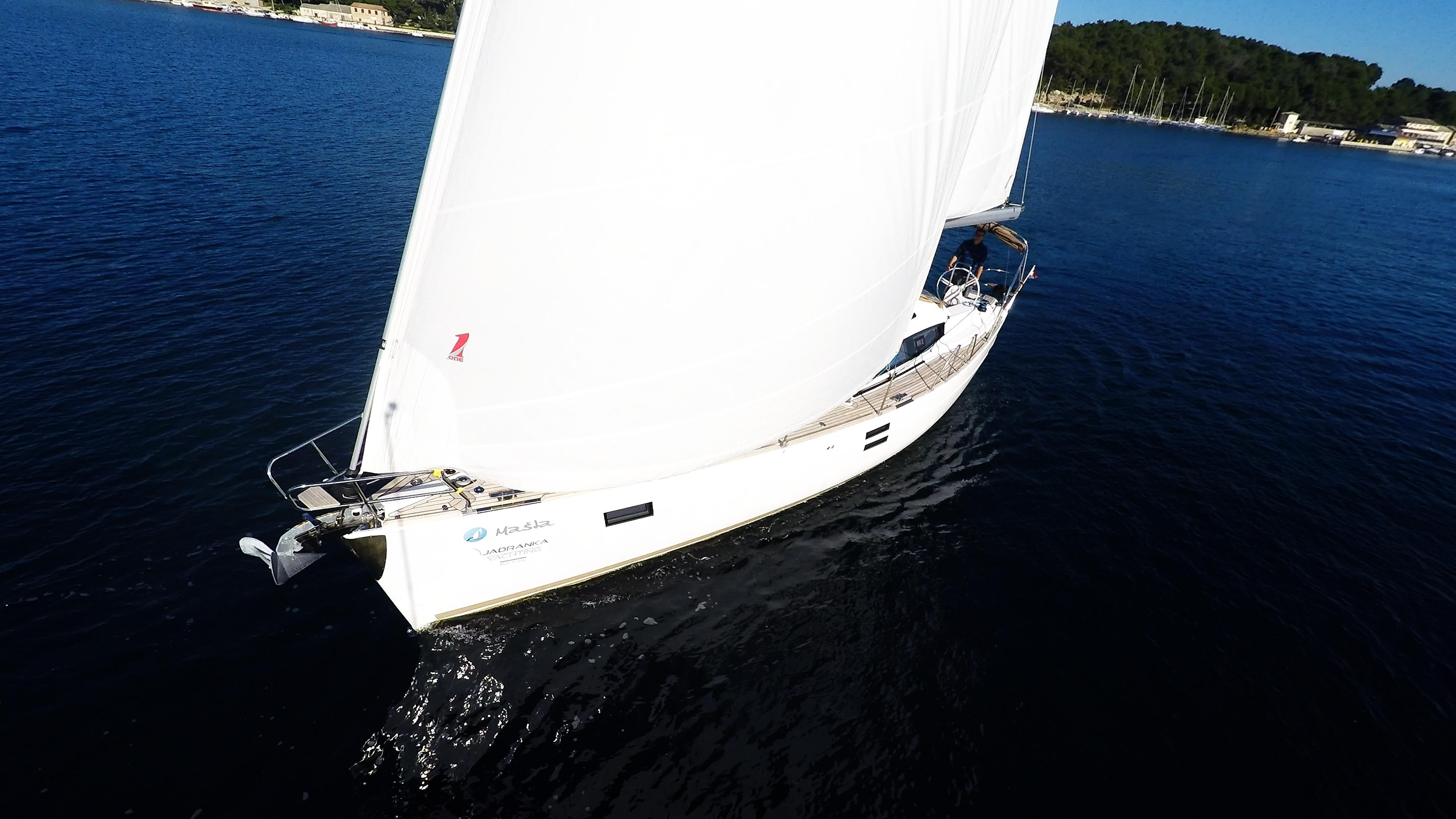 barcha a vela barca a vela vela yacht a vela elan 45 impression