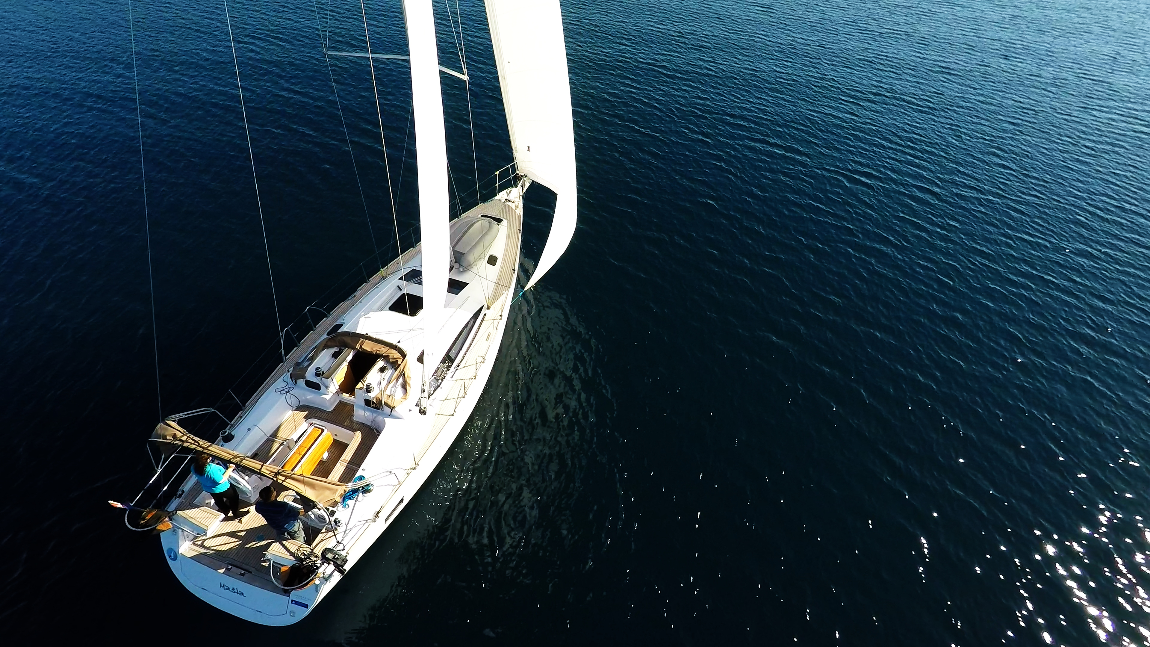 barcha a vela barca a vela yacht a vela elan 45 impression vela