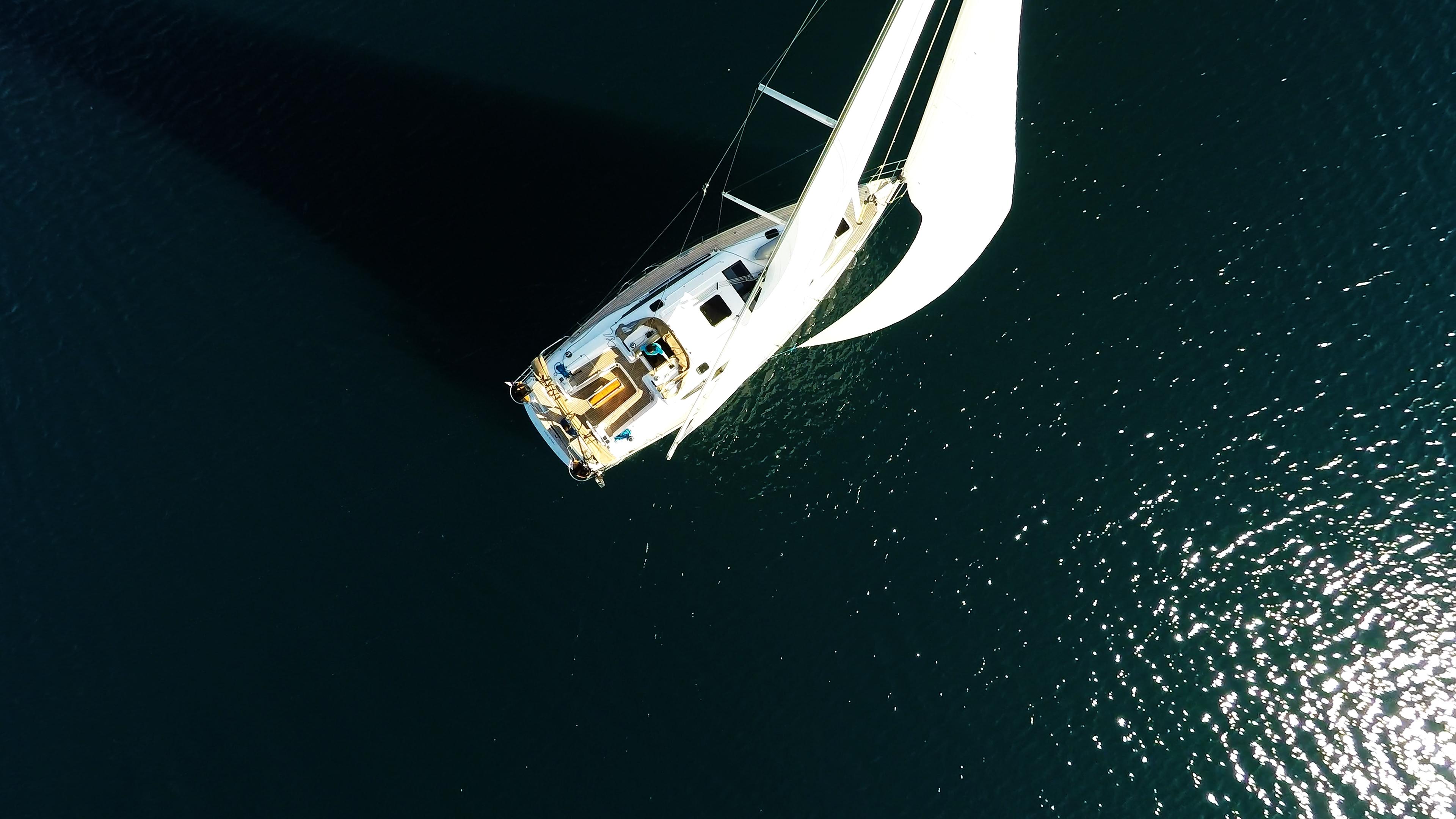 barcha a vela copertain teak per barche a vela da sopra yacht a vela elan 45 impression