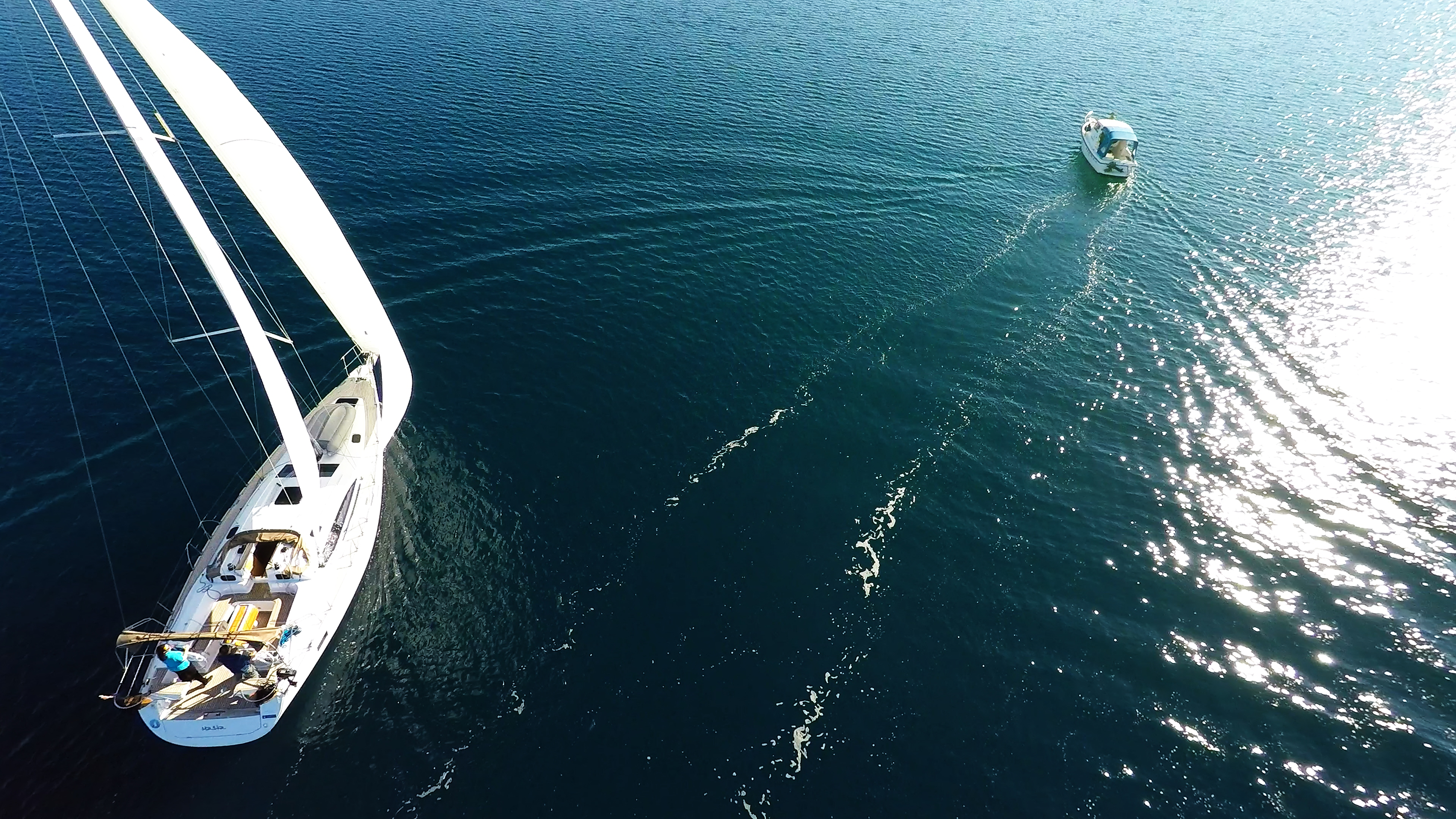 barcha a vela yacht a velae barca a motoreeal mare blu sole