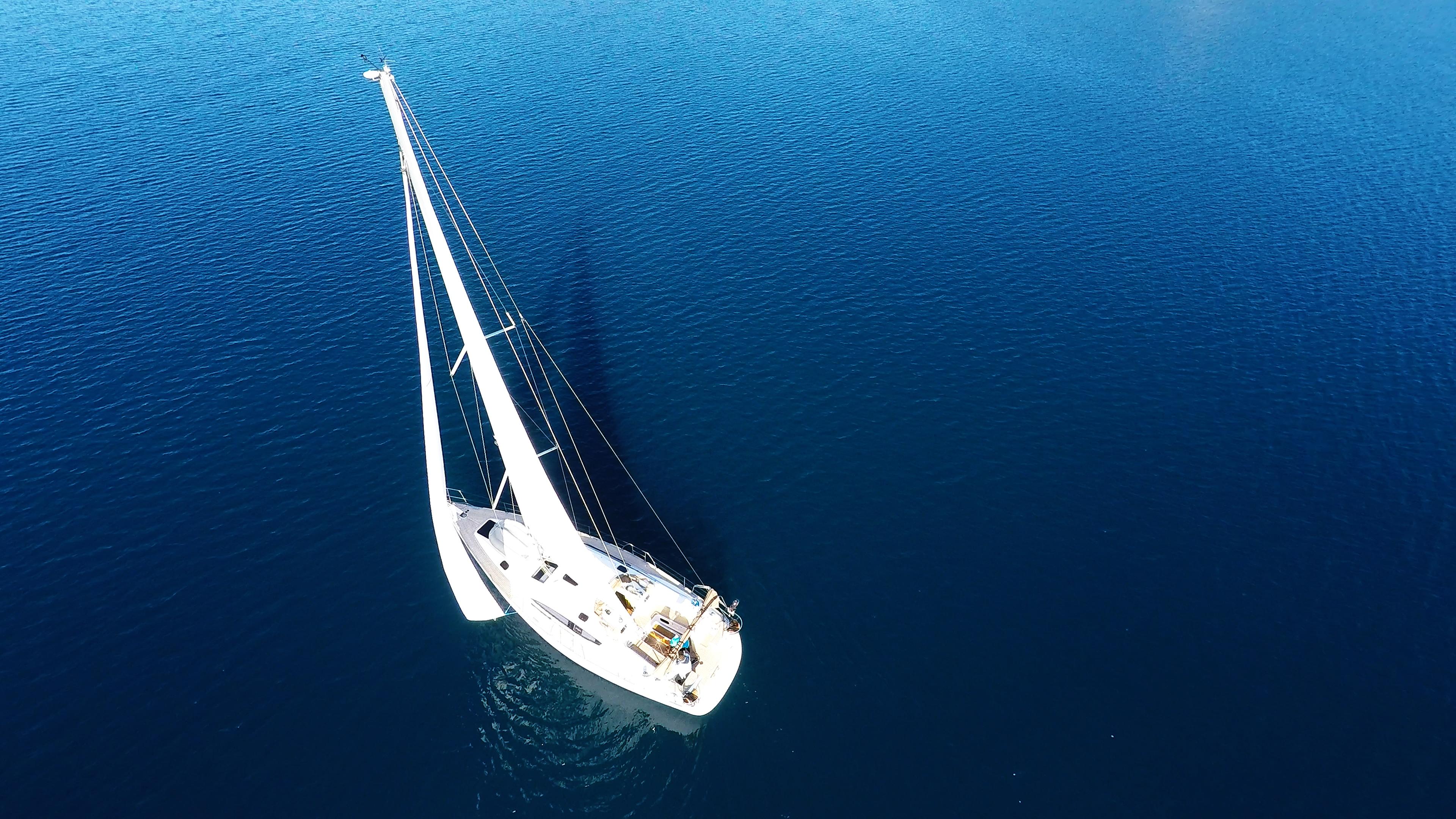 barcha a vela yacht a vela mare blu vele barca