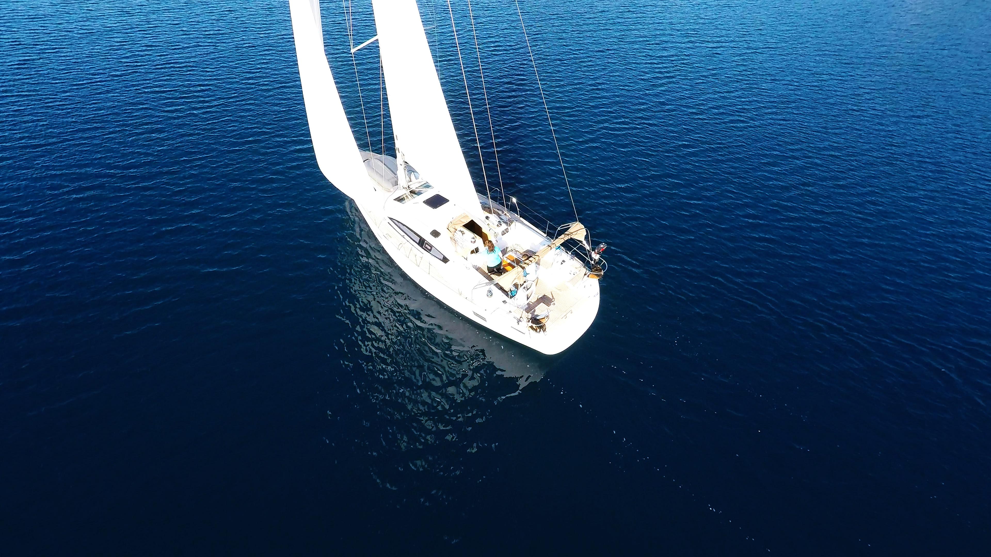 barcha a vela yacht a vela elan 45 mare blu