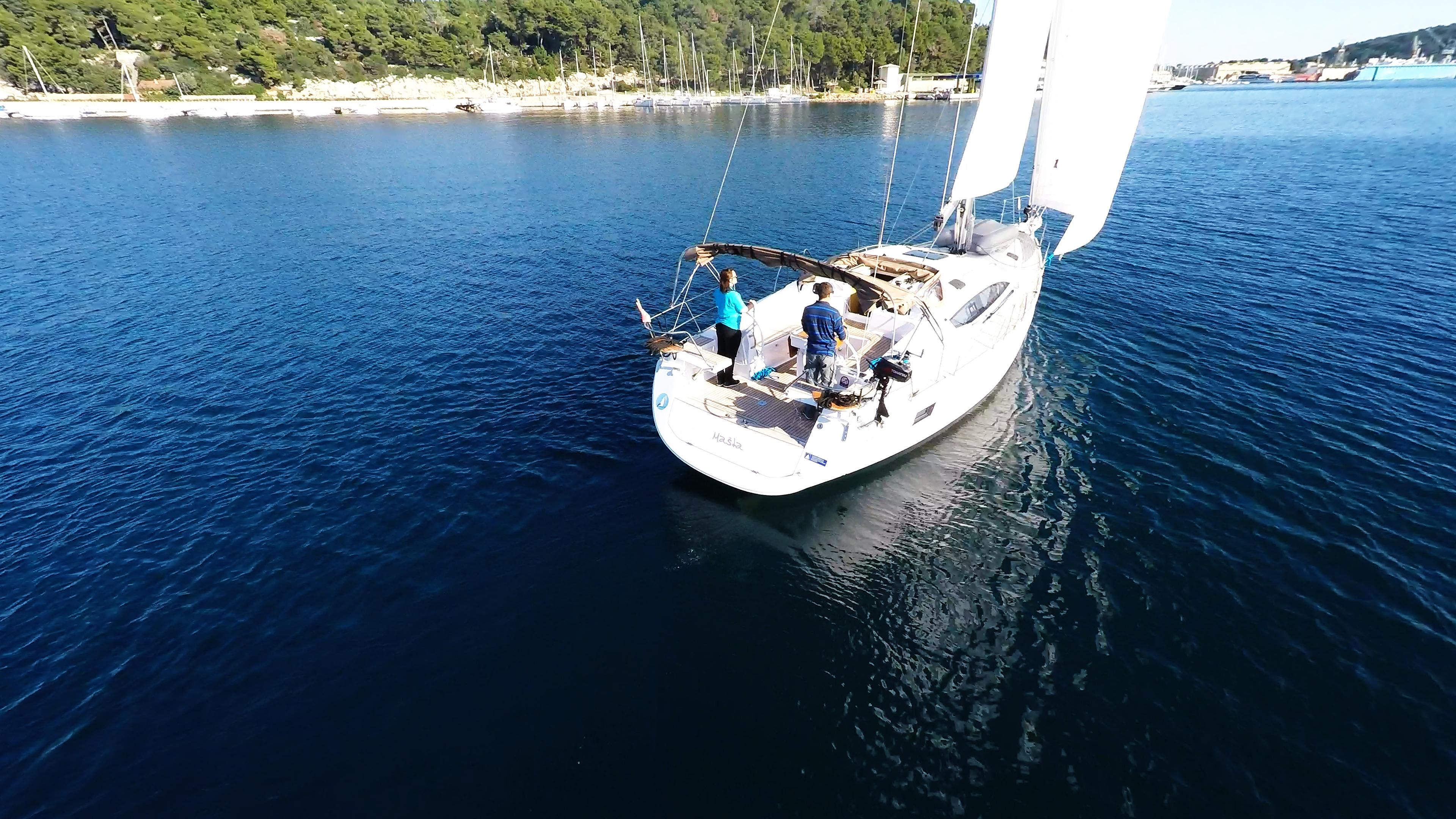 barcha a vela yacht a vela elan 45 impression marina