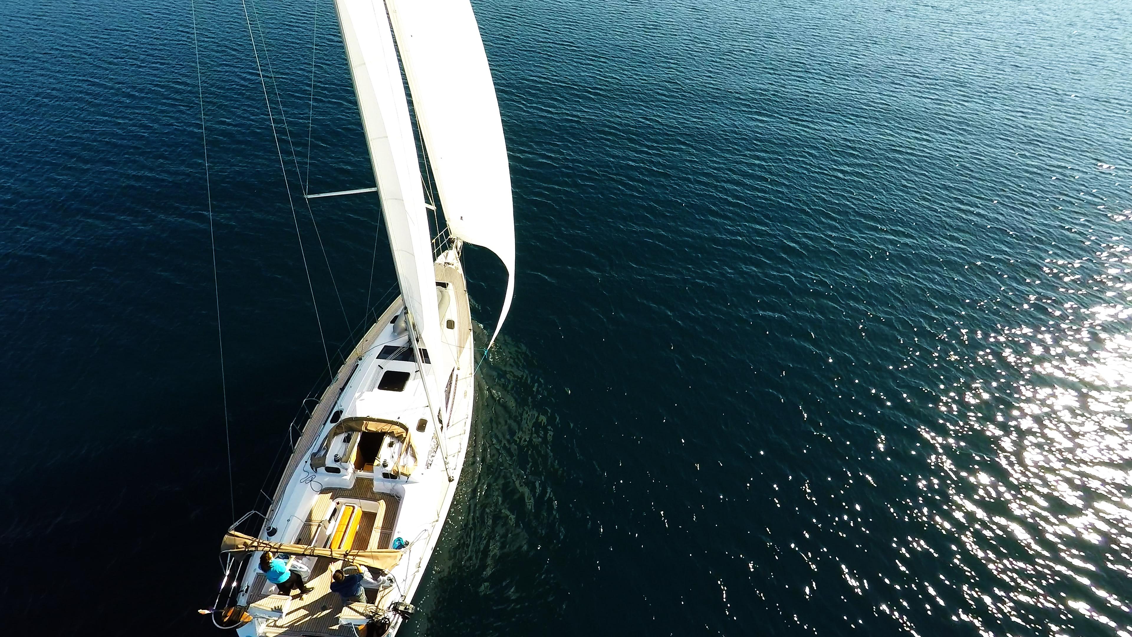 barcha a vela yacht a vela elan 45 impression albero sartiame vele