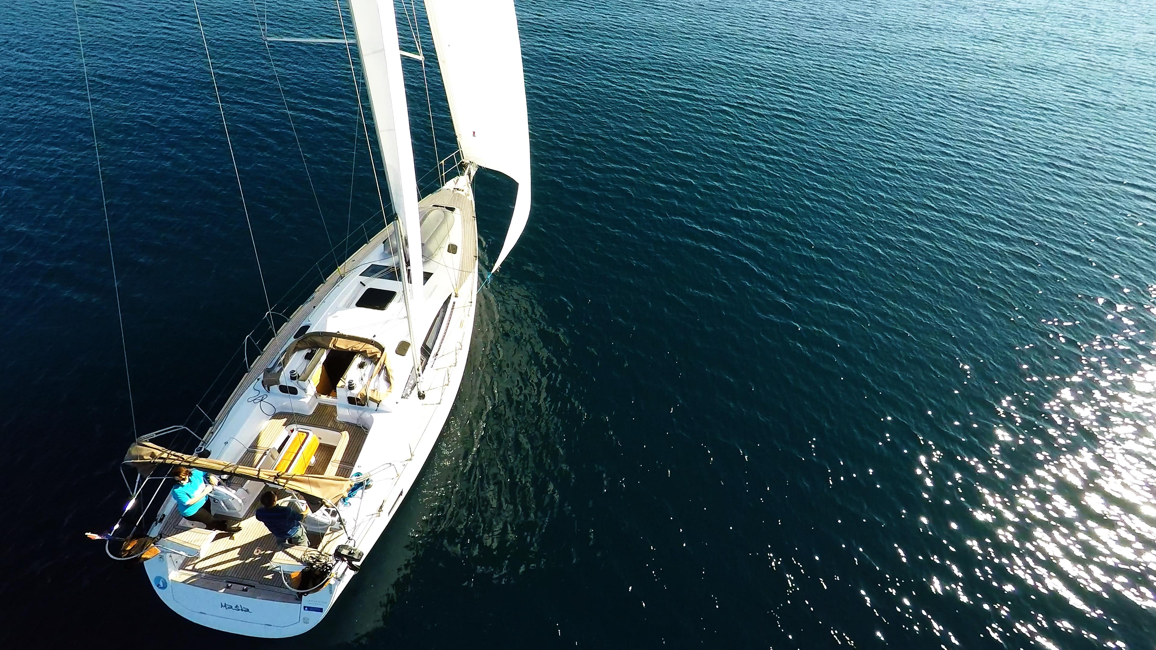 barcha a vela yacht a vela elan 45 impression vela barca a vela