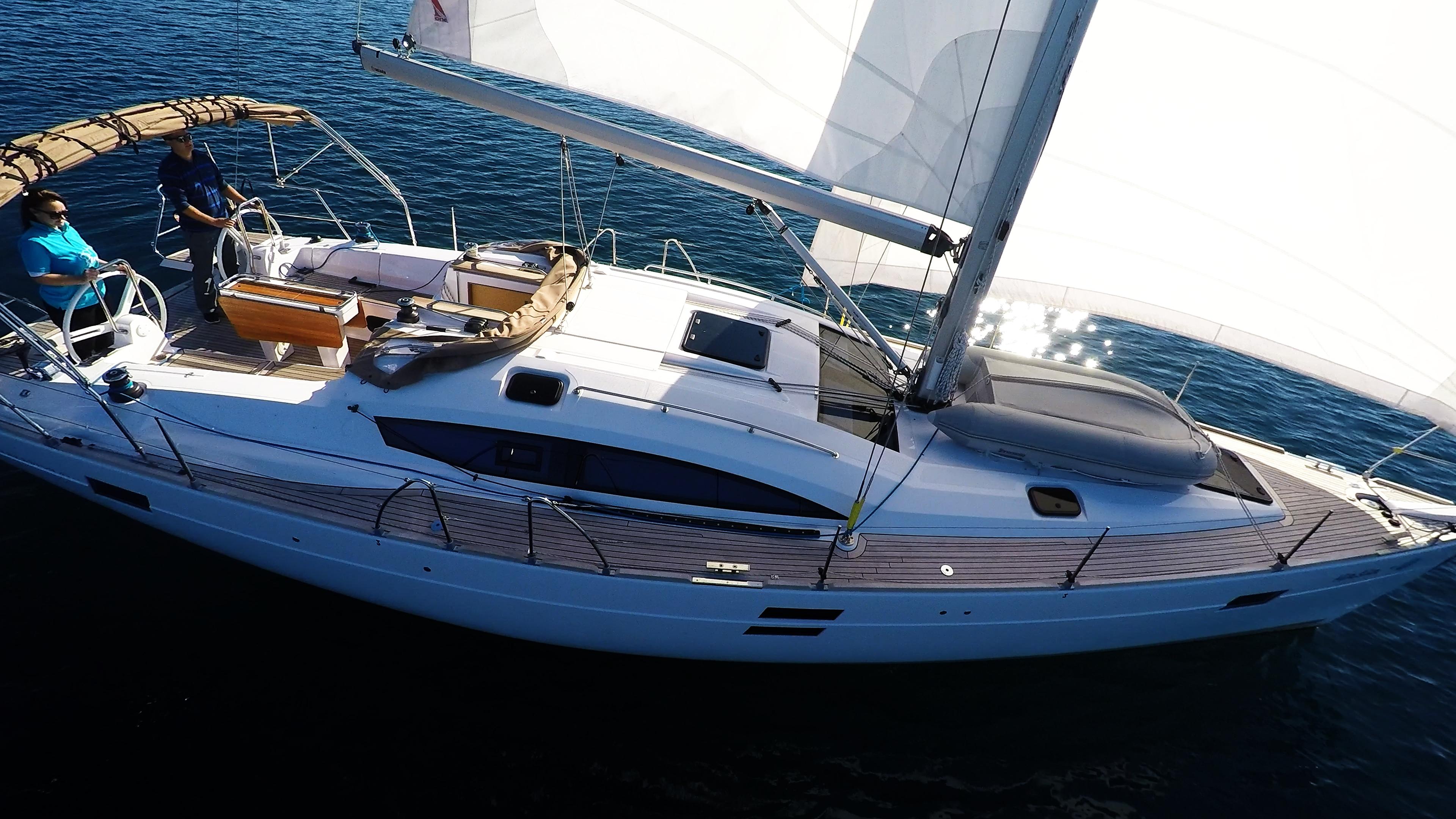 barcha a vela yacht a vela elan 45 impression barca a vela monoscafo