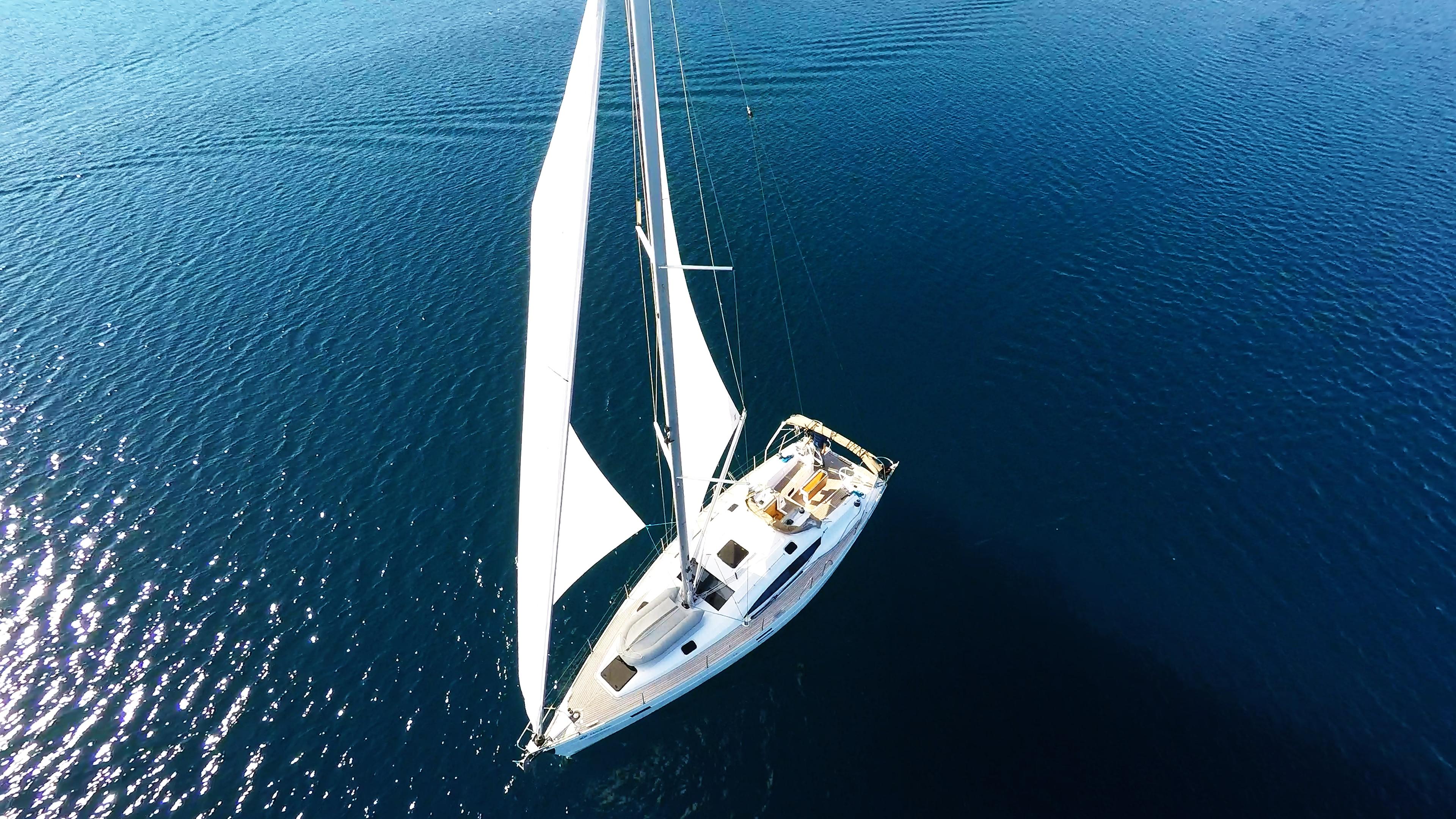 barcha a vela yacht a vela elan 45 impression vele della barca a vela