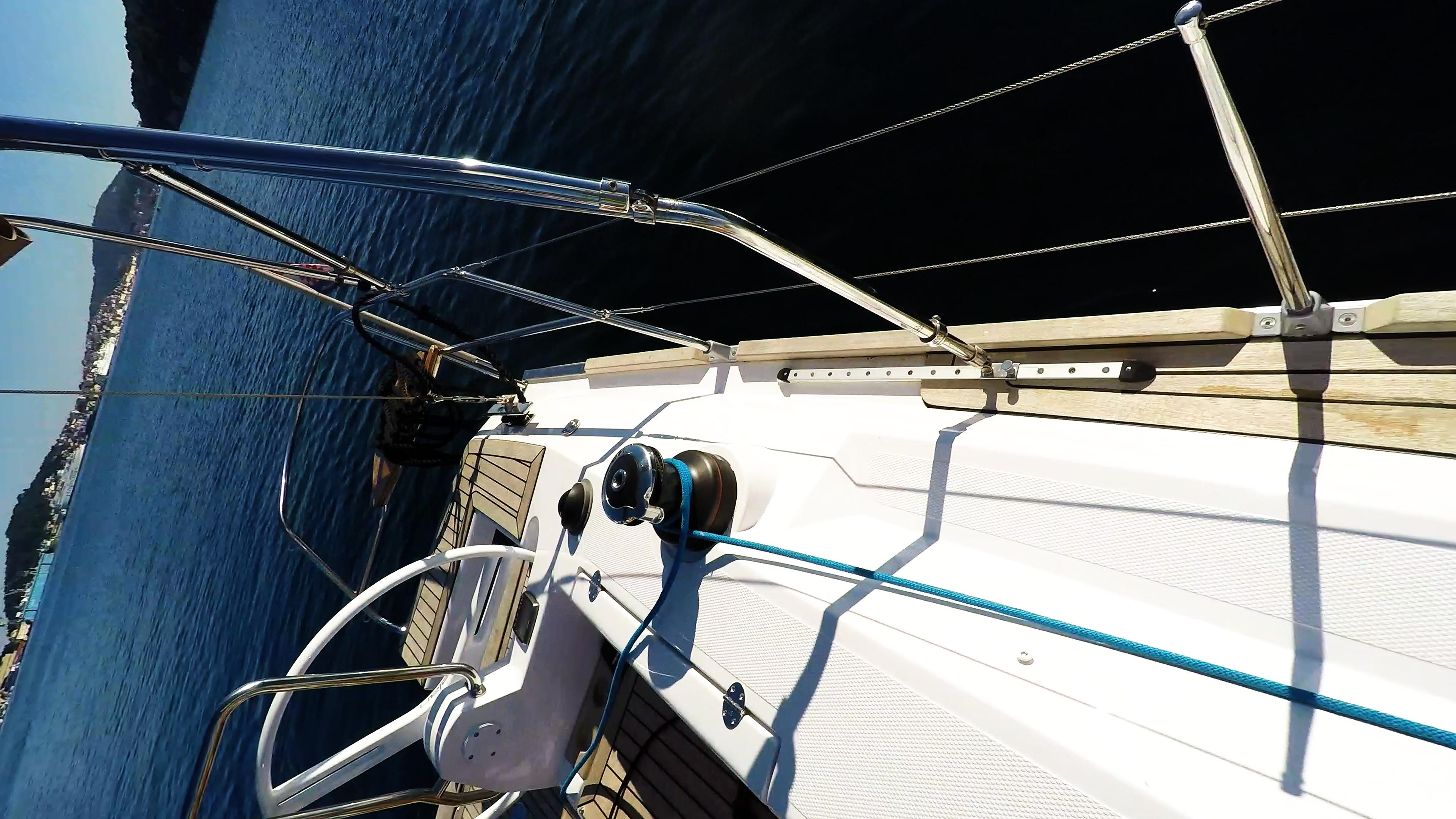 barcha a vela yacht a vela elan 45 impression verricello timone ruota