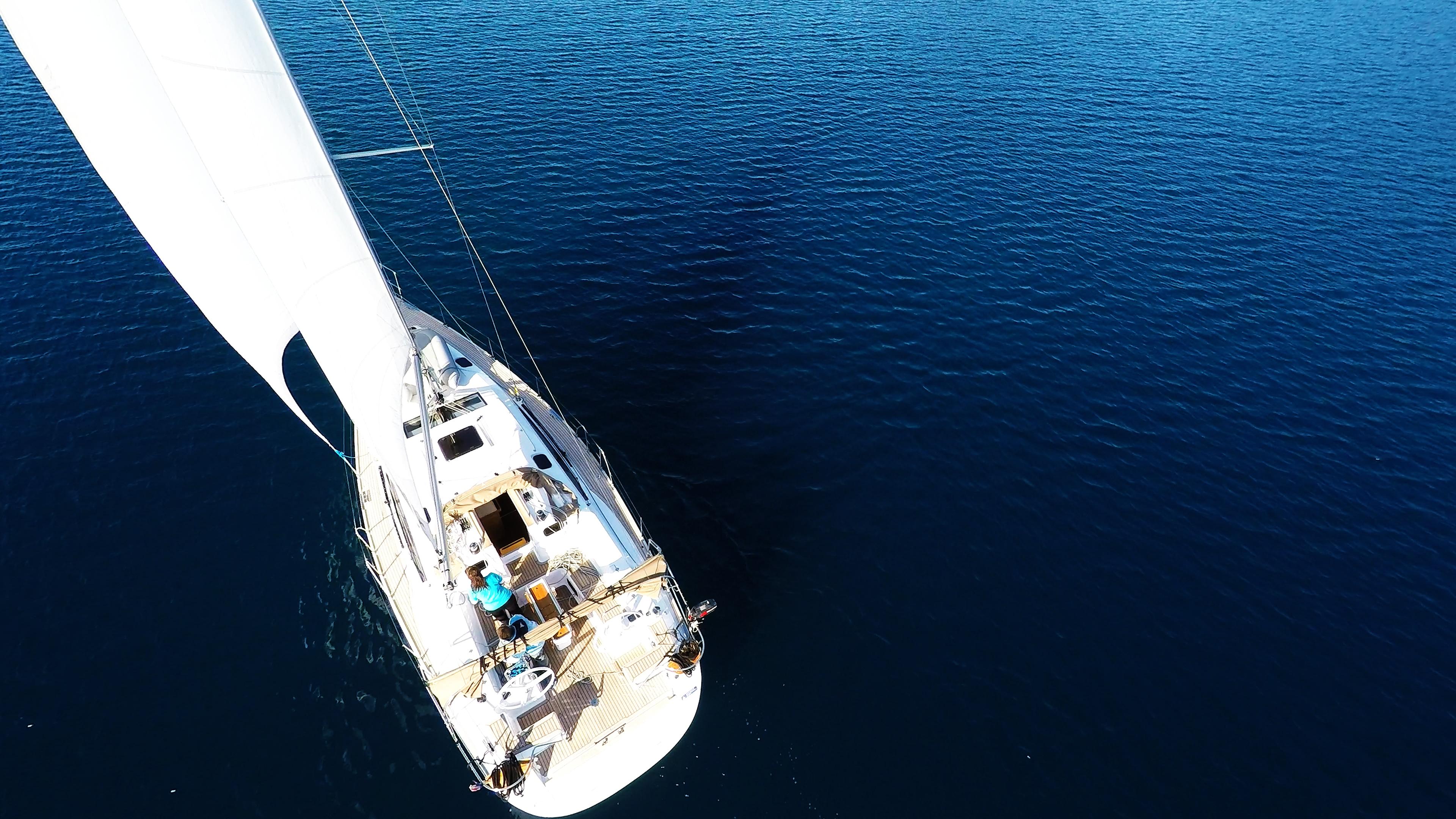 barcha a vela yacht a vela elan 45 randa mare blu