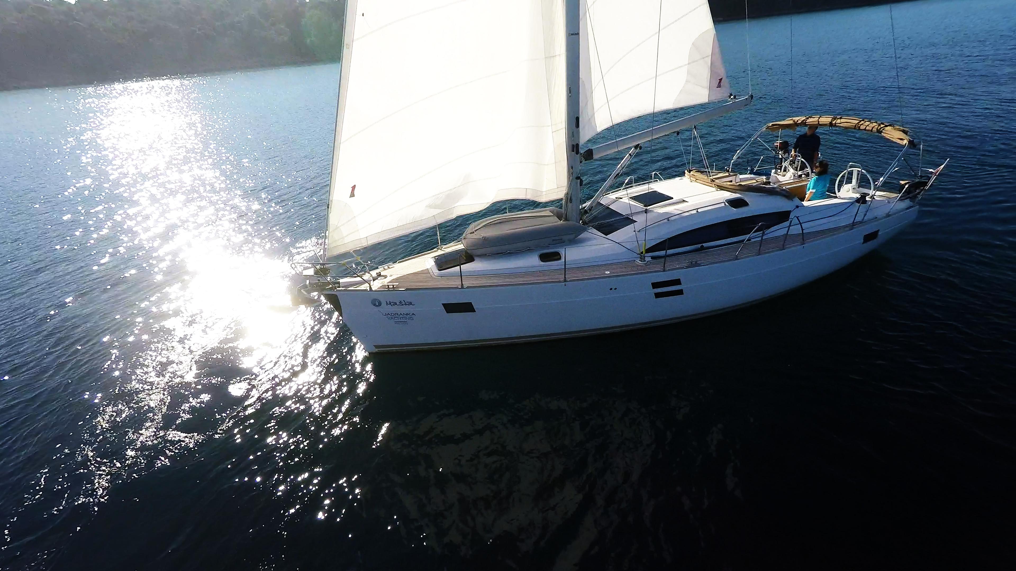 barcha a vela yacht a vela vela barca a vela elan 45 impression