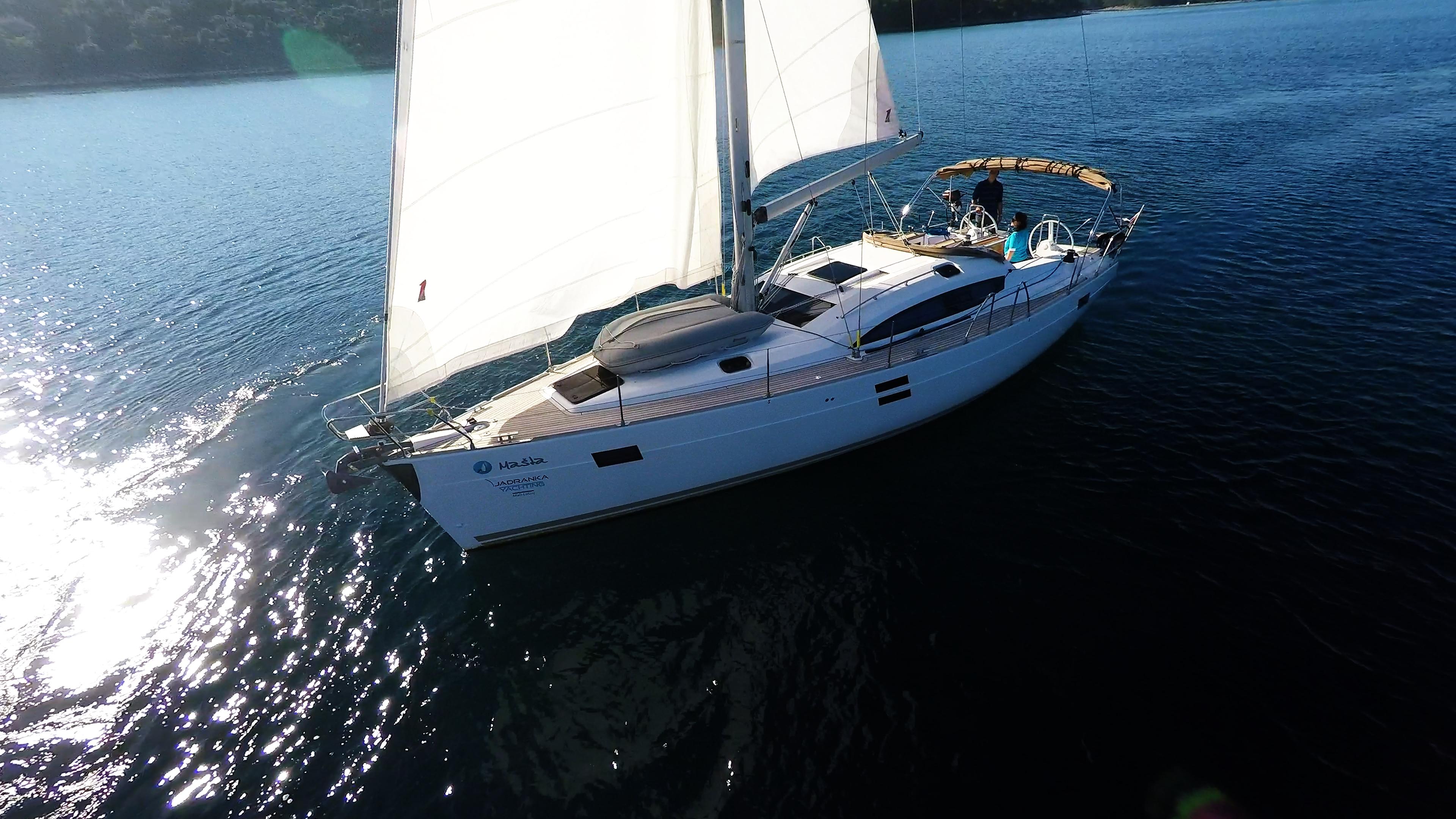 barcha a vela yacht a vela barca a vela elan 45 impression vela
