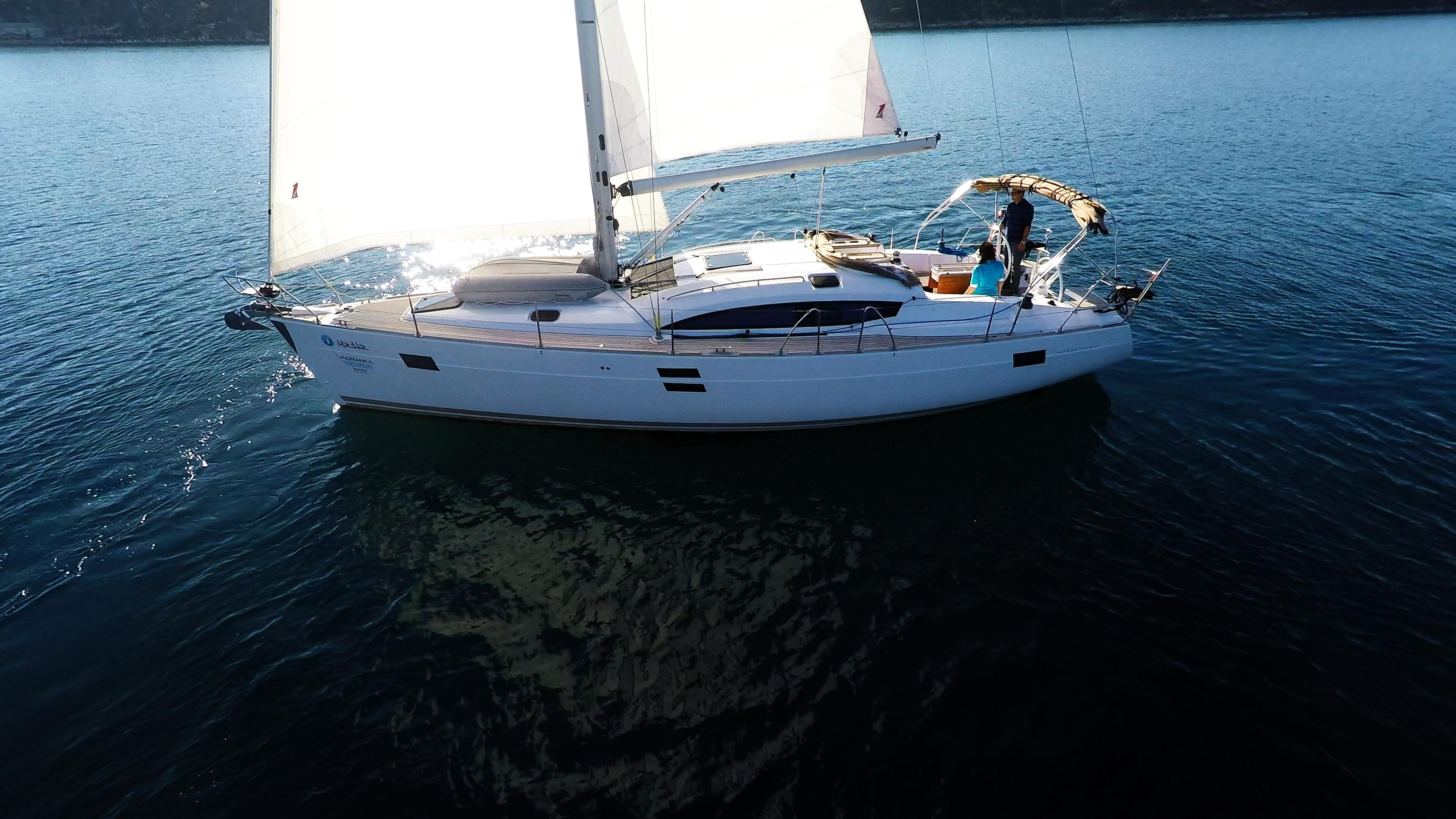 barcha a vela vele barca a vela elan 45 impression vela yacht a vela