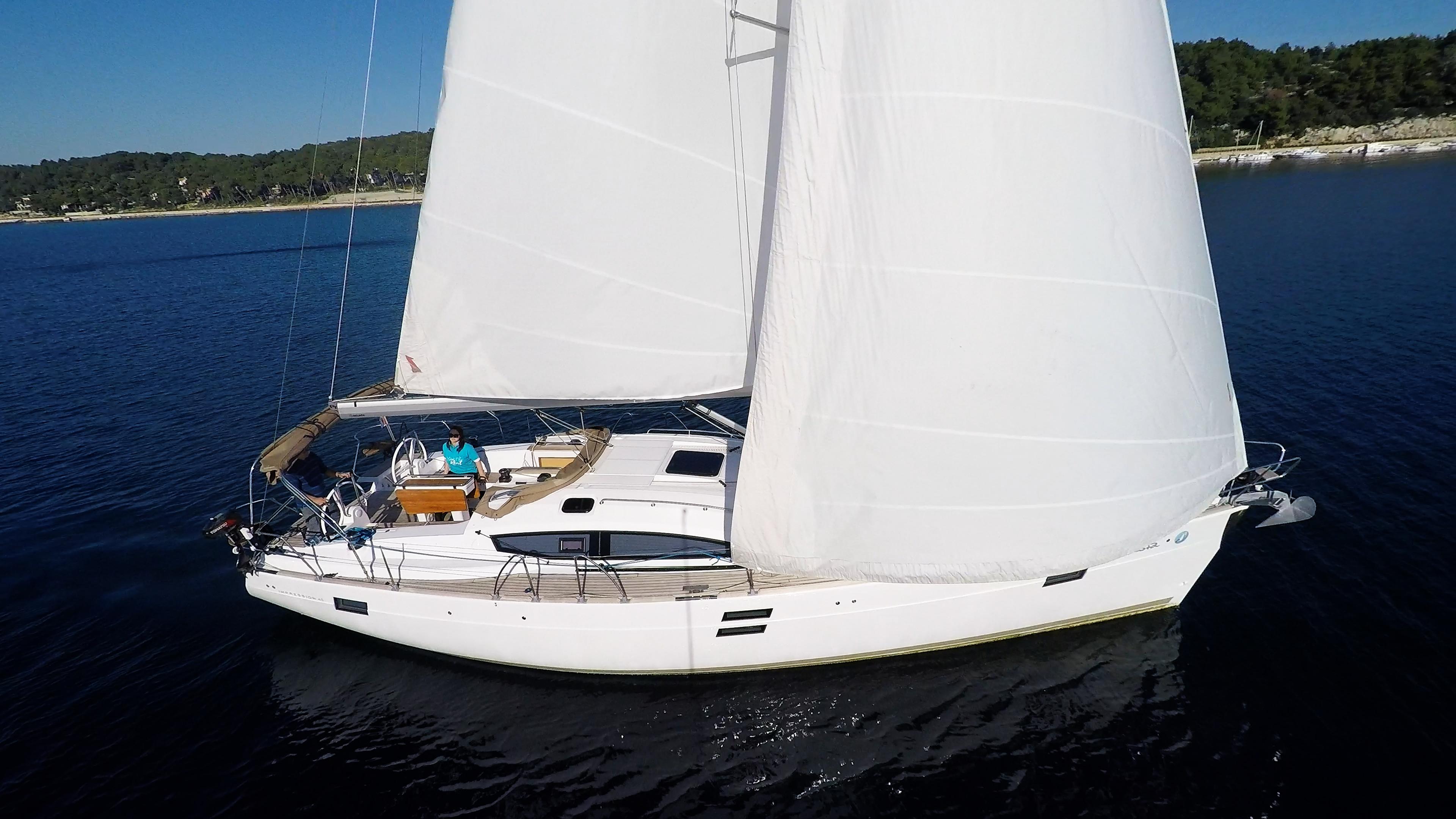 barcha a vela vele barca a vela elan 45 impression yacht a vela