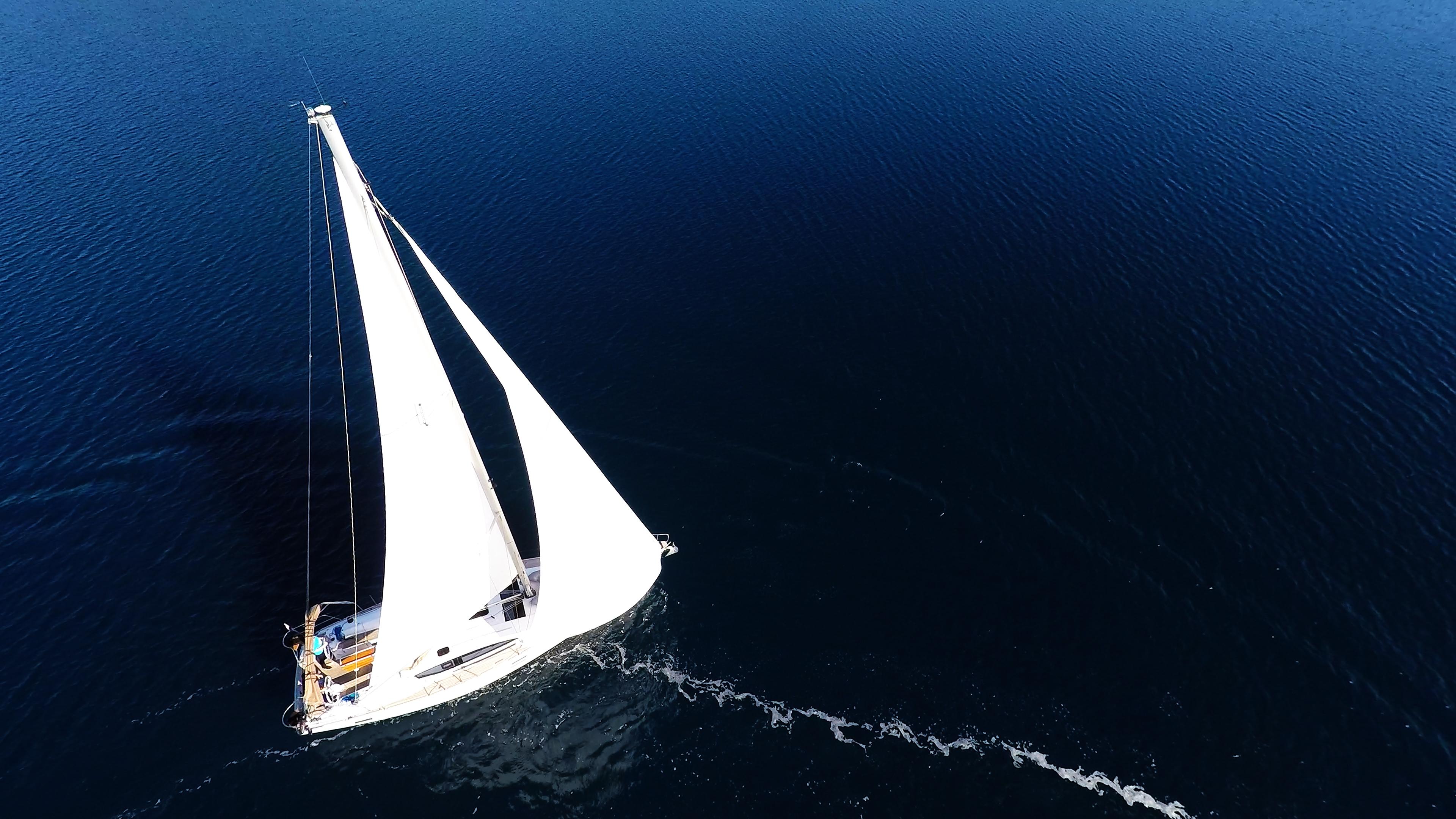 barcha a vela vele barca a vela elan 45 yacht a vela mare blu