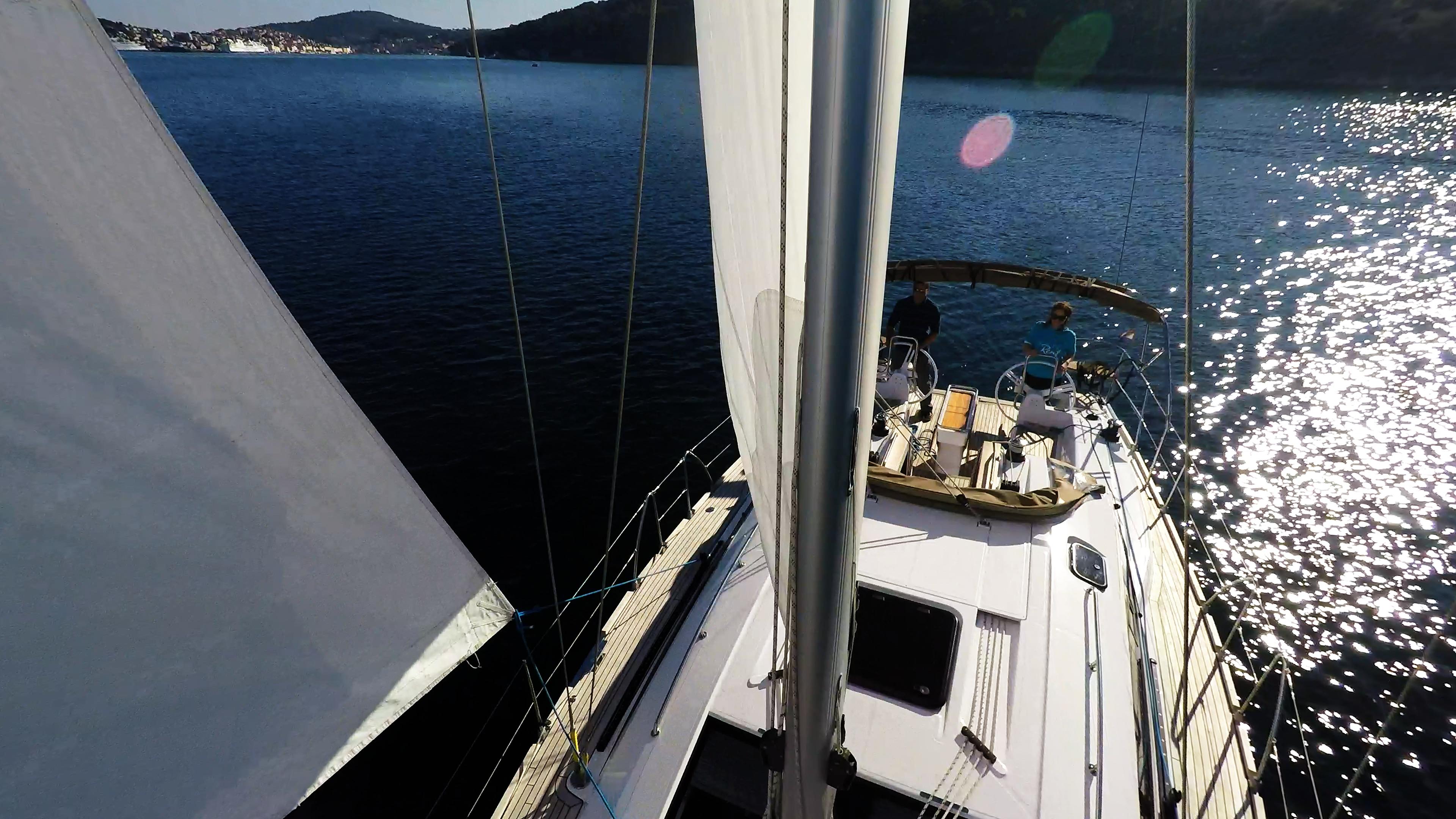 barcha a vela sotto le vele barca a vela yacht a vela elan 45 impression