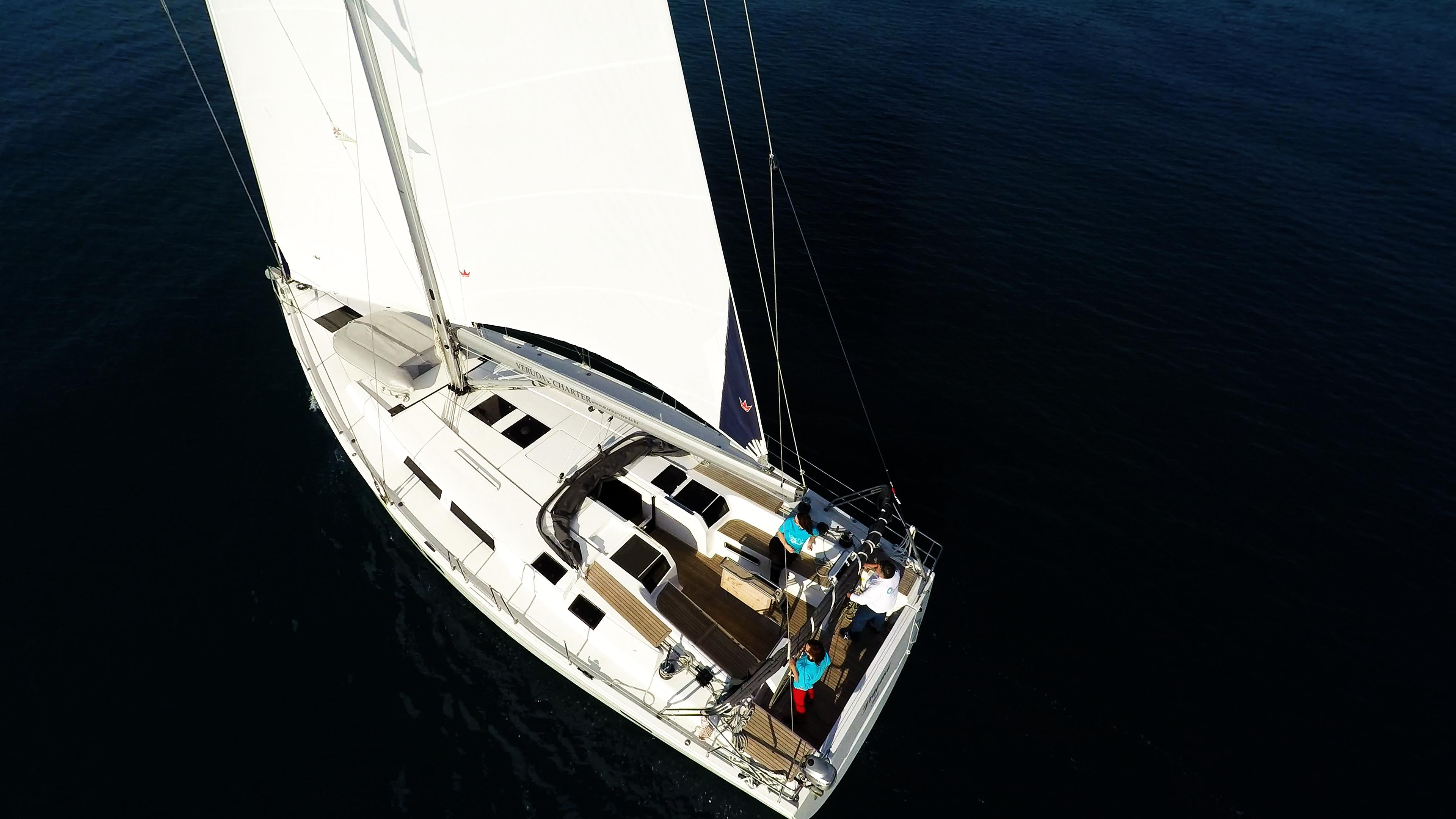 barcha a vela Hanse 505 ponte da sopra yacht a vela