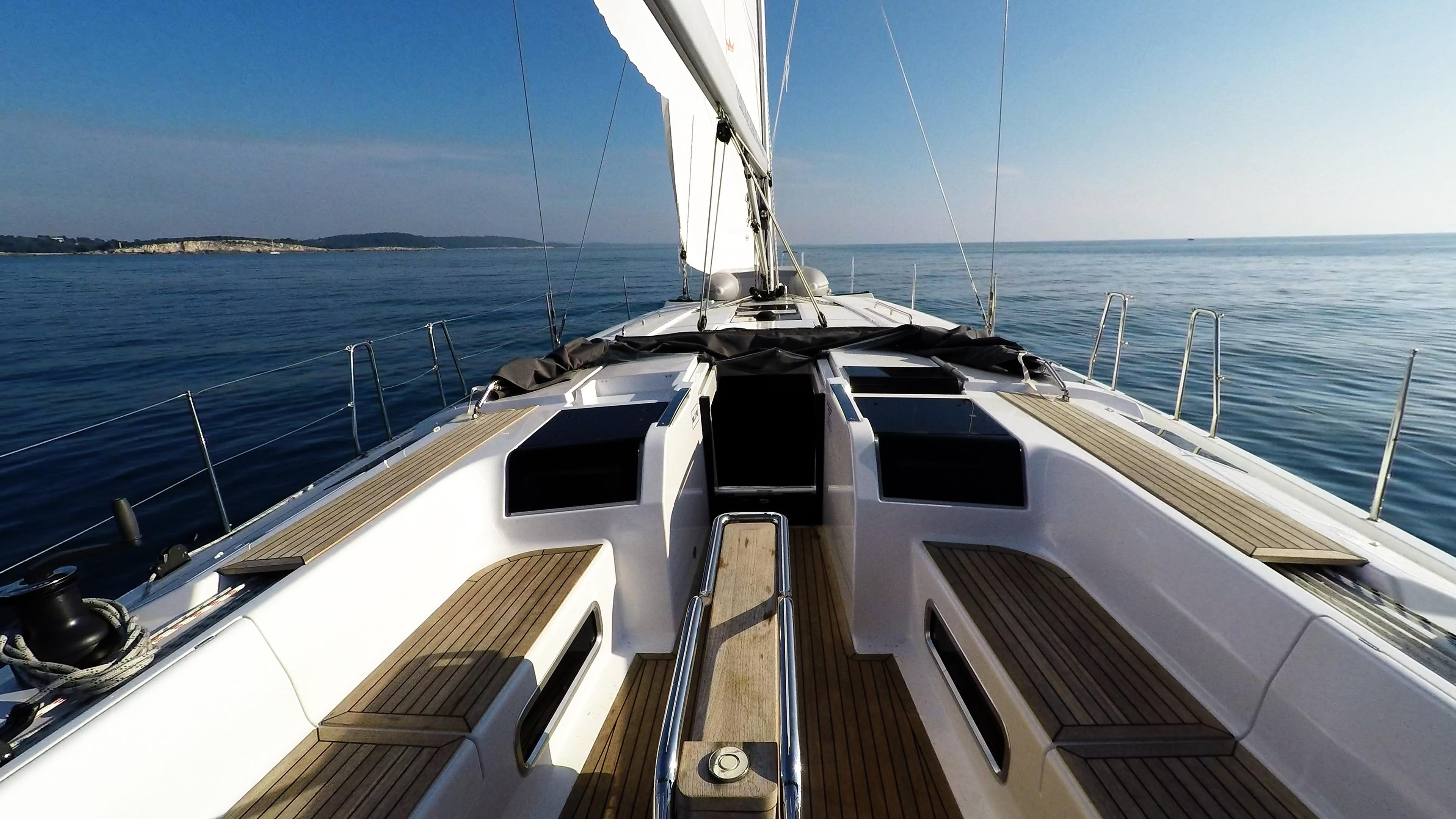 barcha a vela Hanse 505 ponte yacht a vela