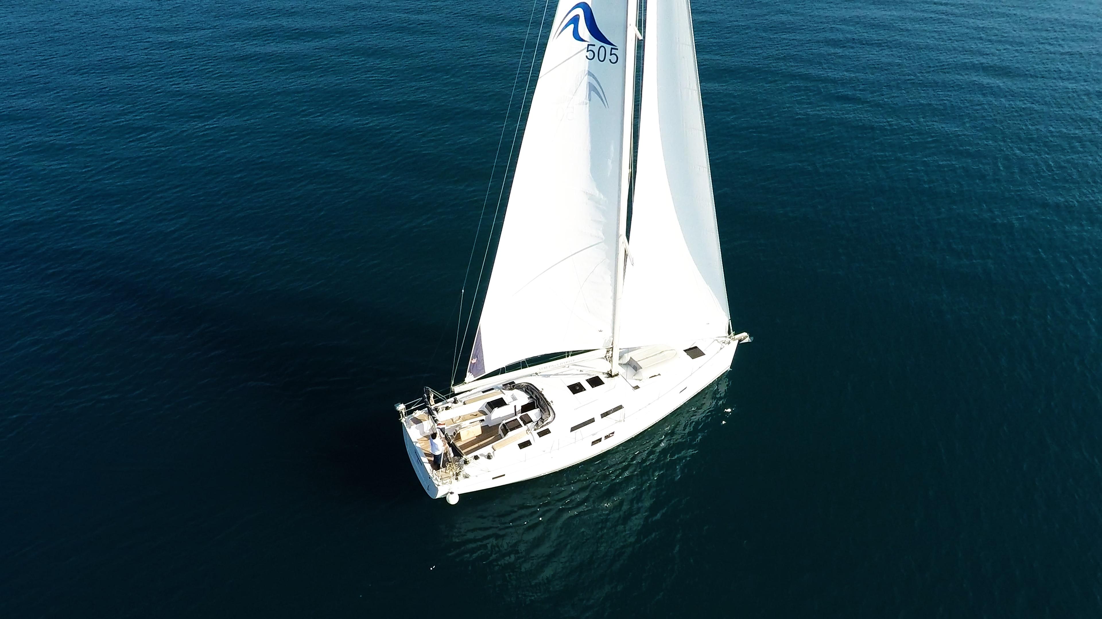 barcha a vela Hanse 505 barca a vela 1