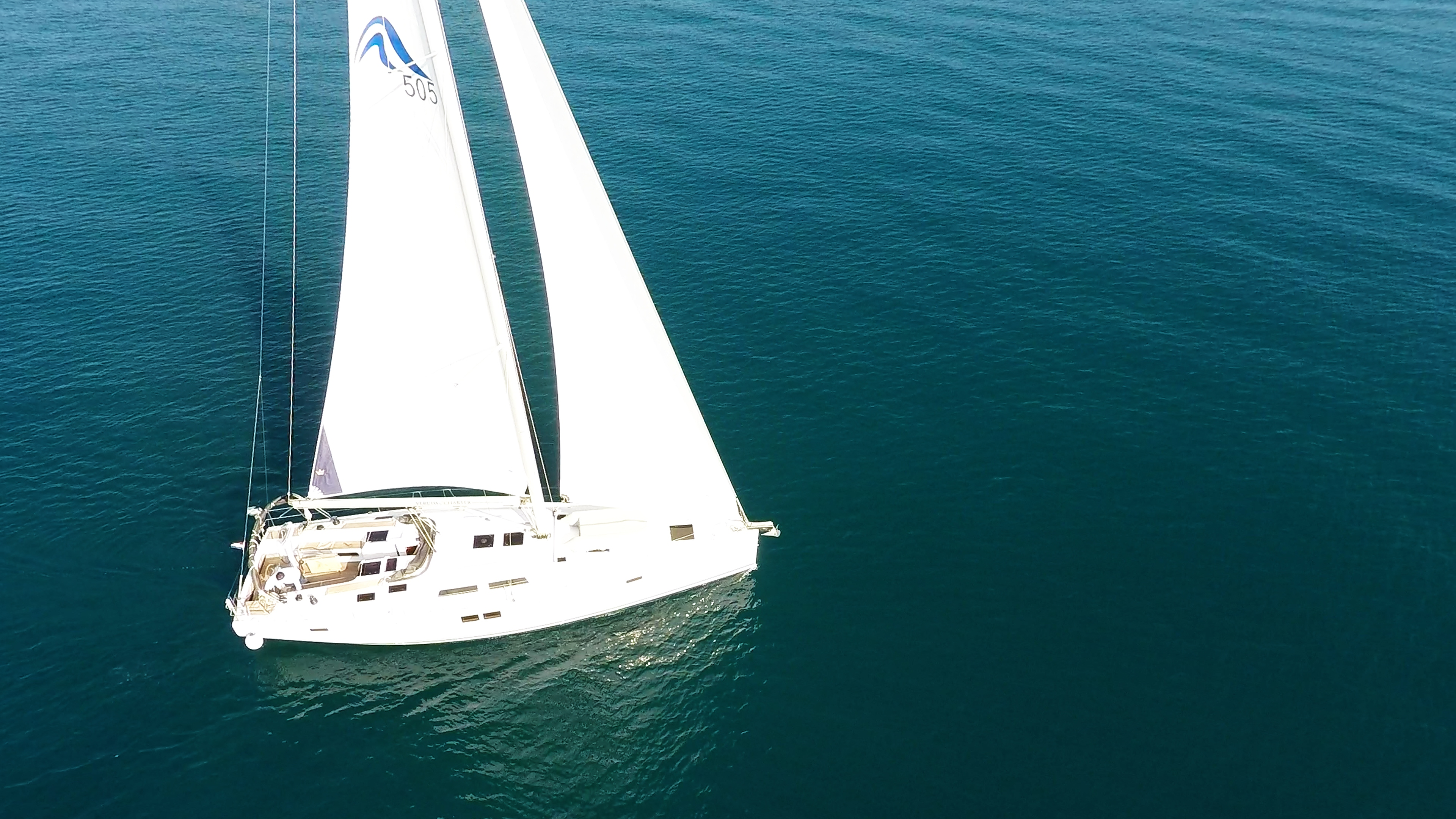 barcha a vela Hanse 505 barca a vela 2