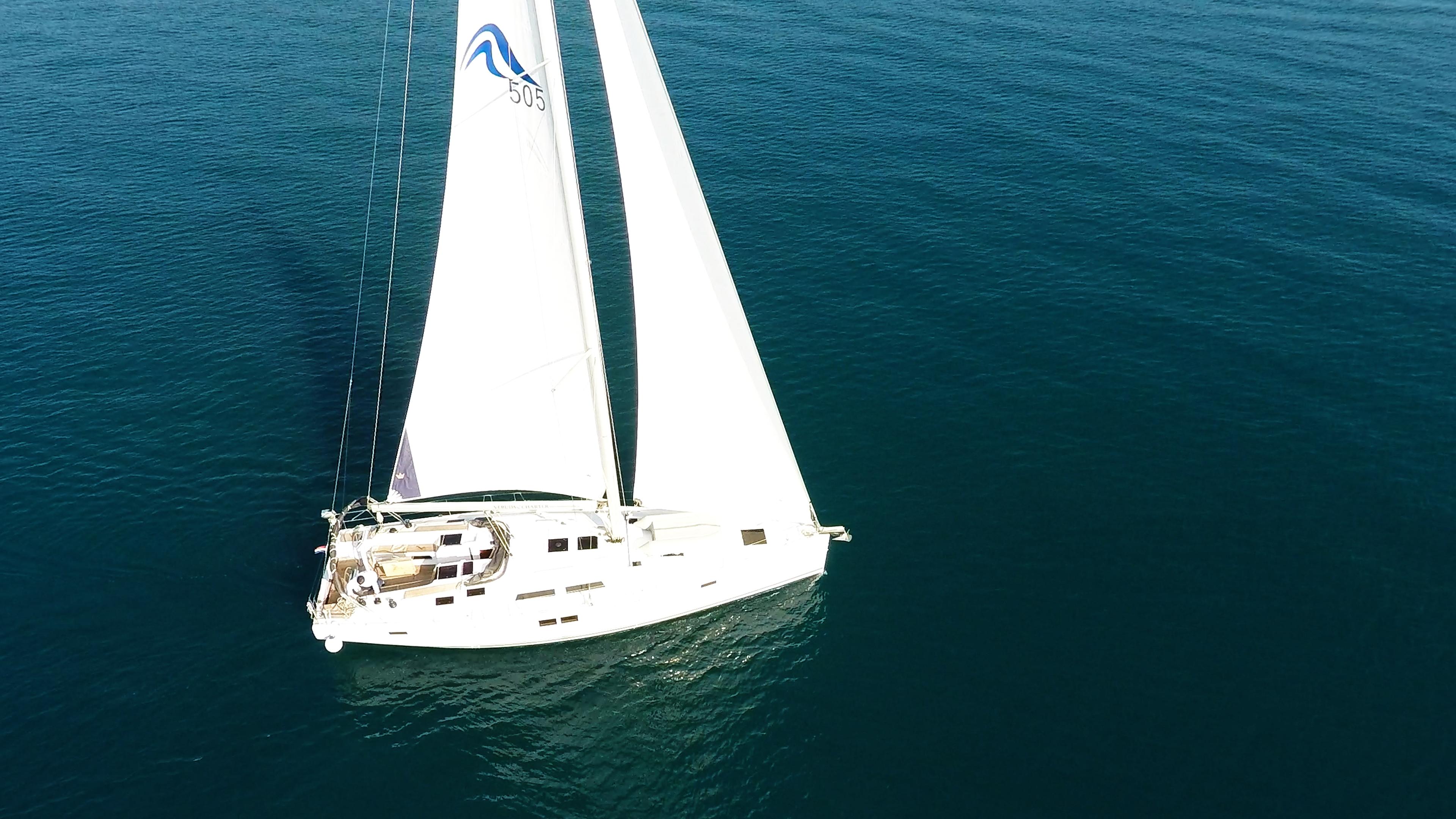 barcha a vela Hanse 505 barca a vela 3