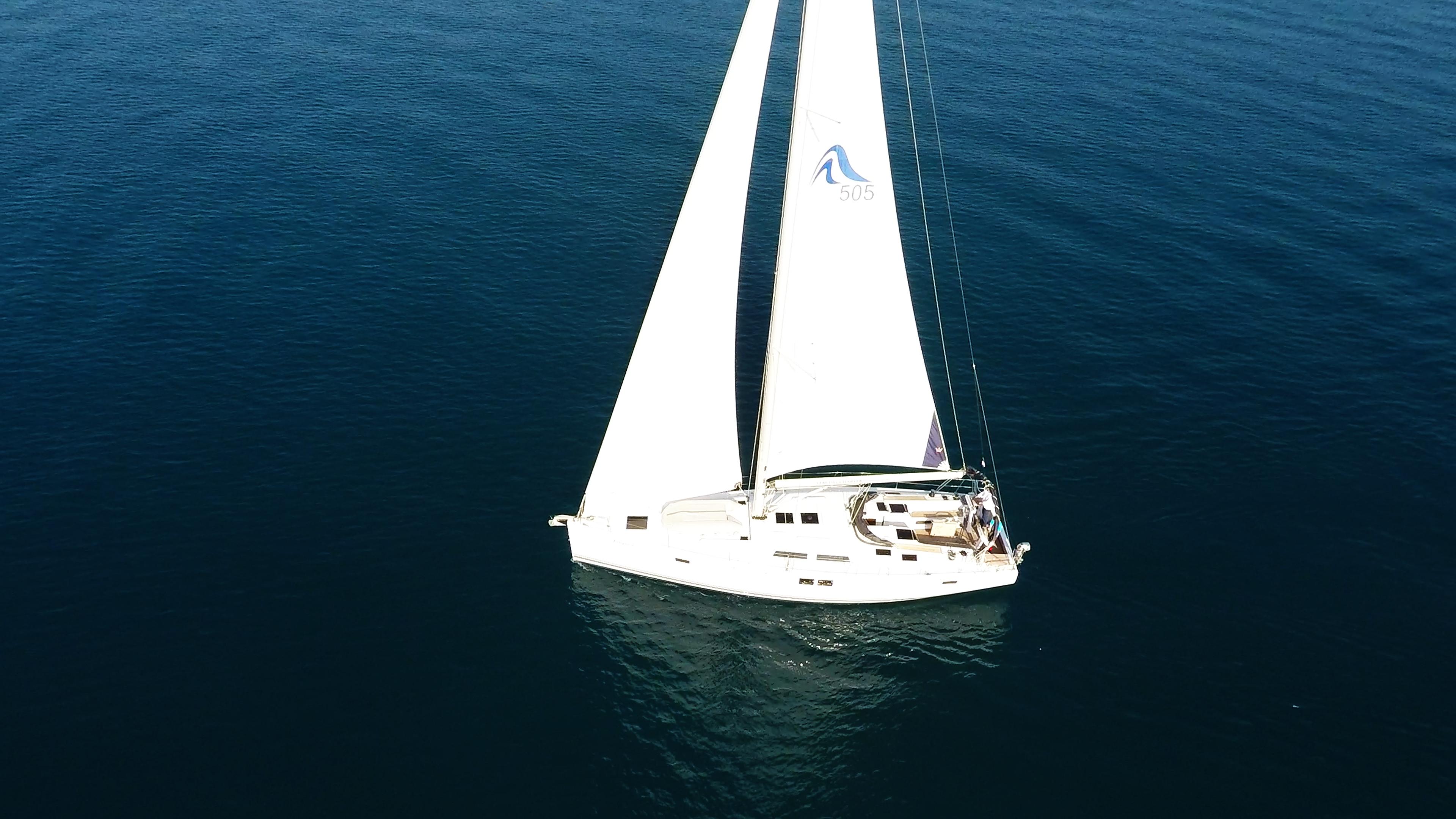 barcha a vela Hanse 505 barca a vela 4