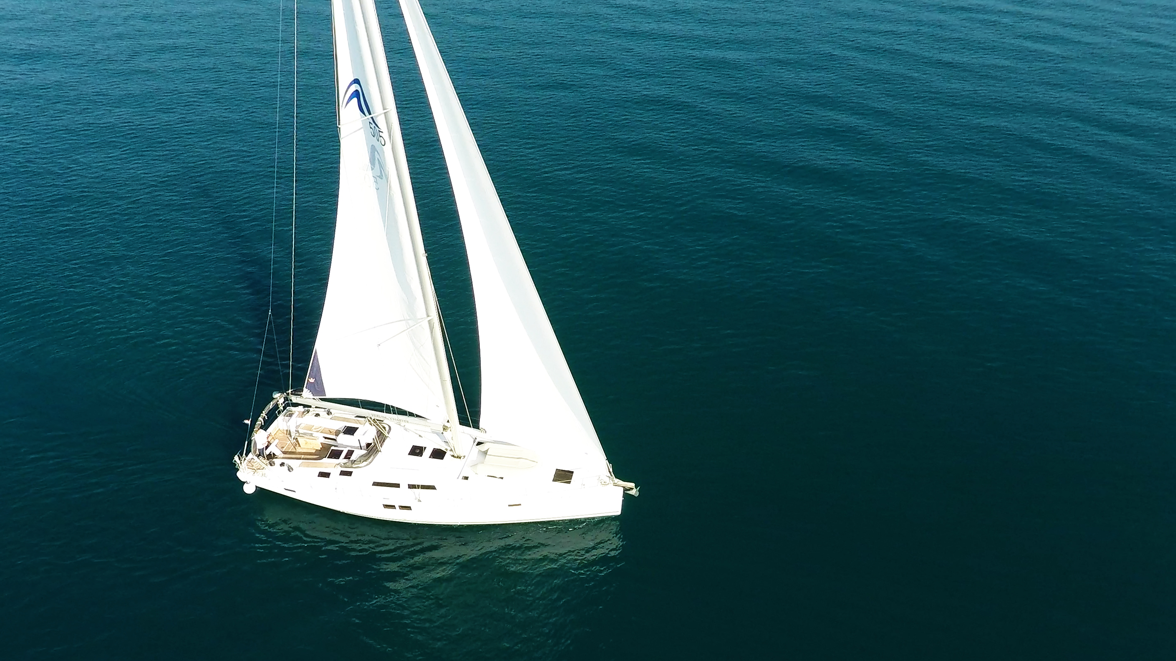 barcha a vela Hanse 505 barca a vela aereo