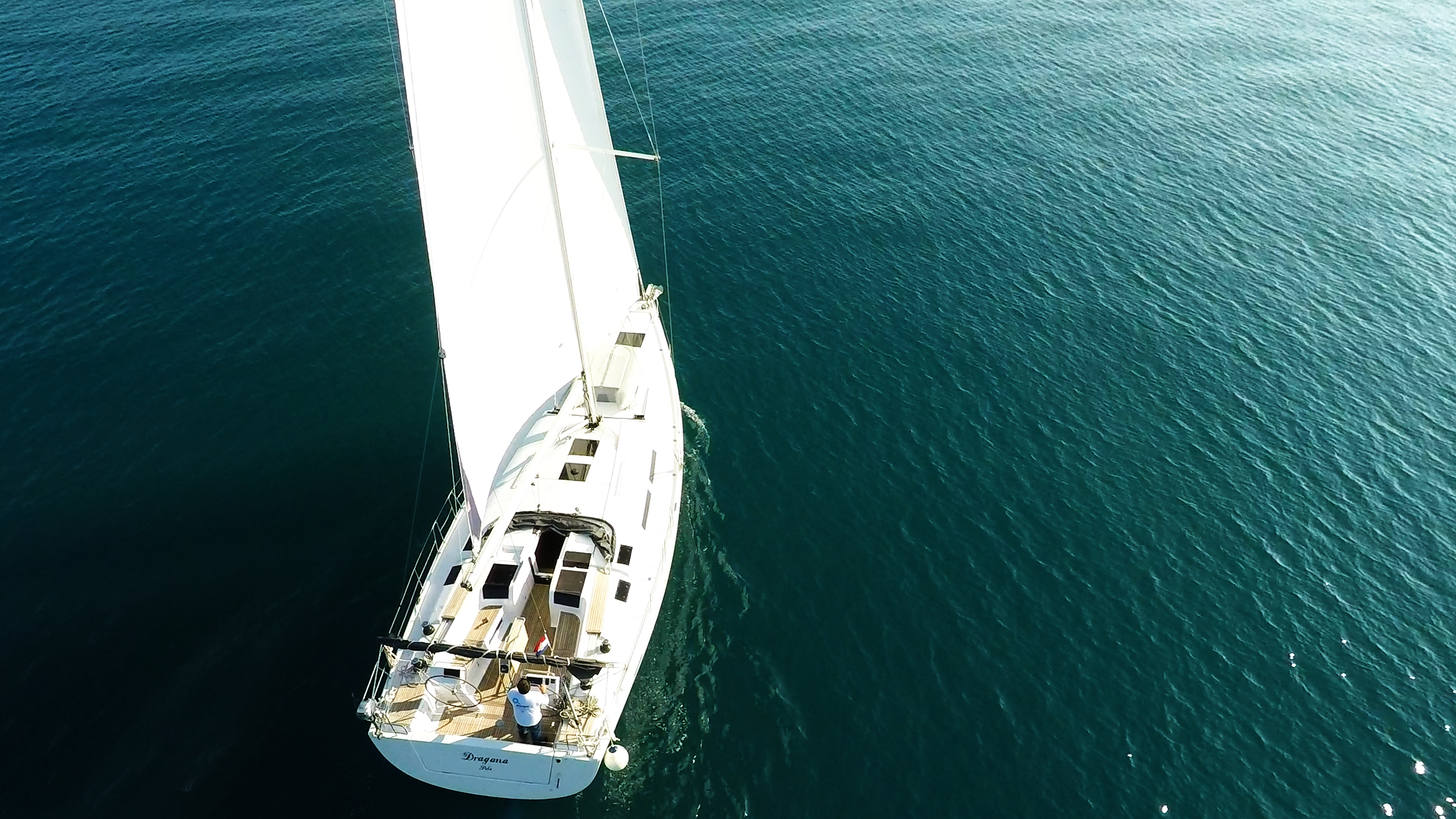 barcha a vela Hanse 505 barca a vela ponte da sopra