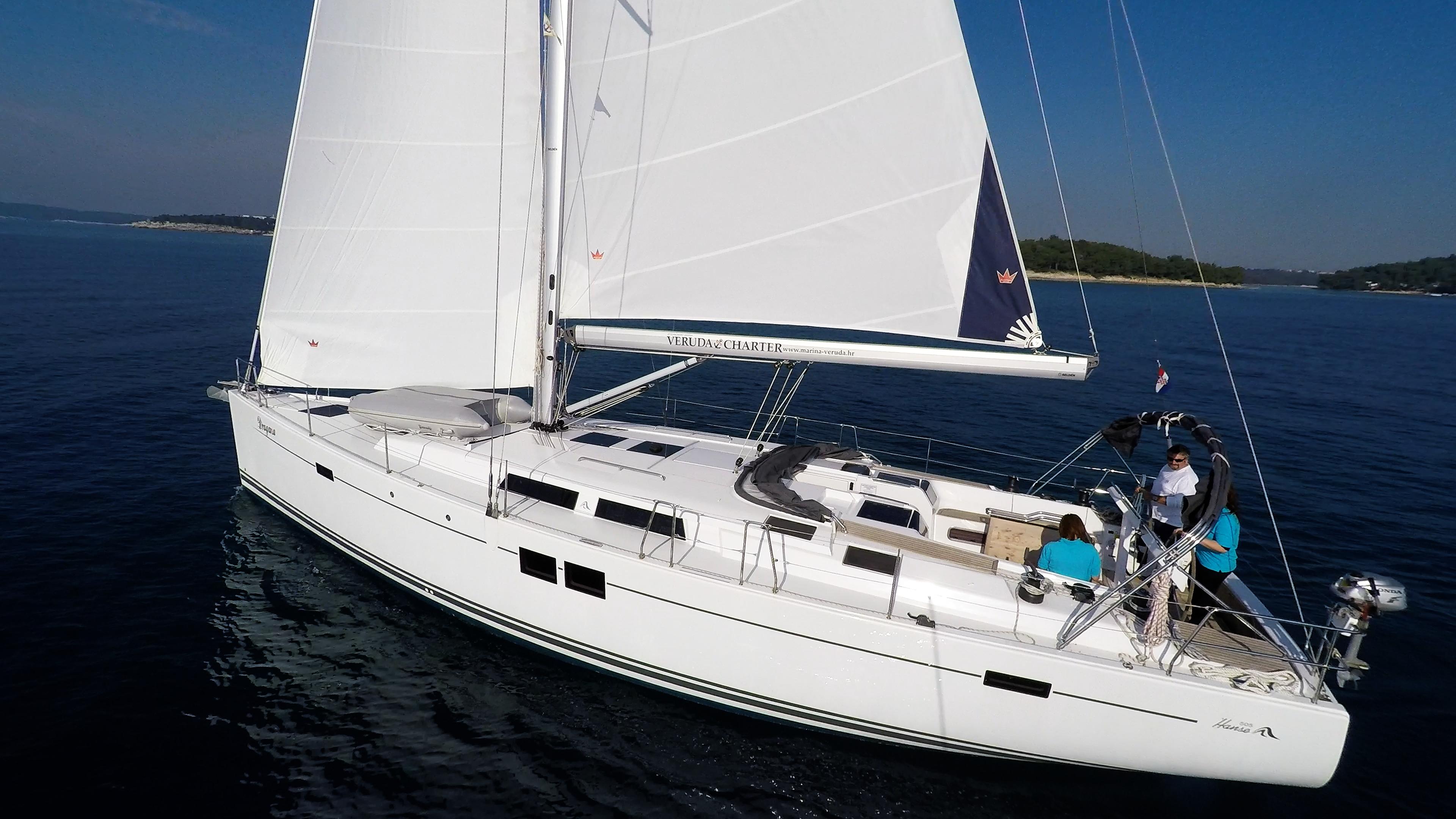 barcha a vela Hanse 505 barca a vela monoscafo vele