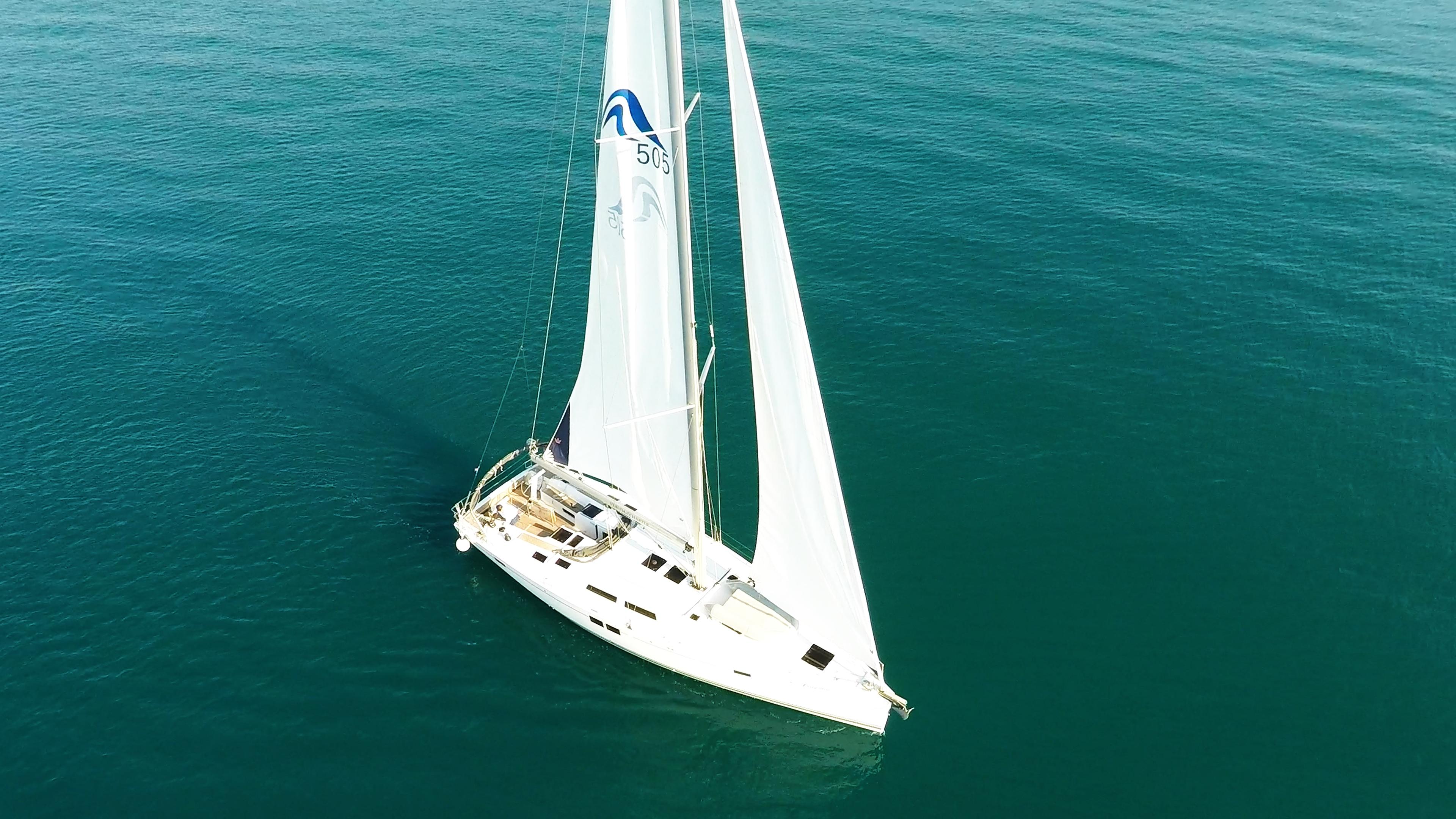 barcha a vela Hanse 505 barca a vela